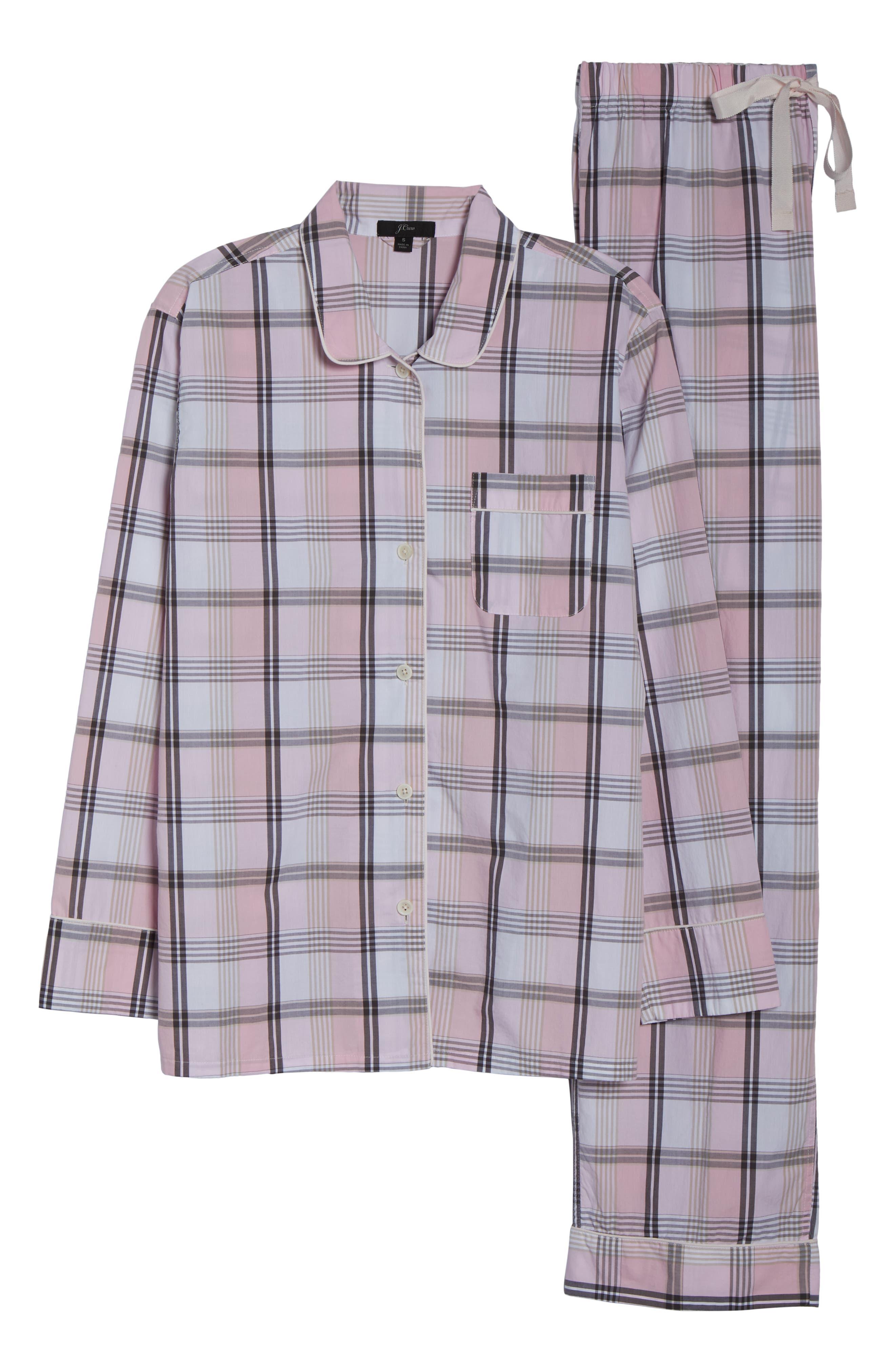 Cotton Pajamas,                             Alternate thumbnail 6, color,                             PINK COAL