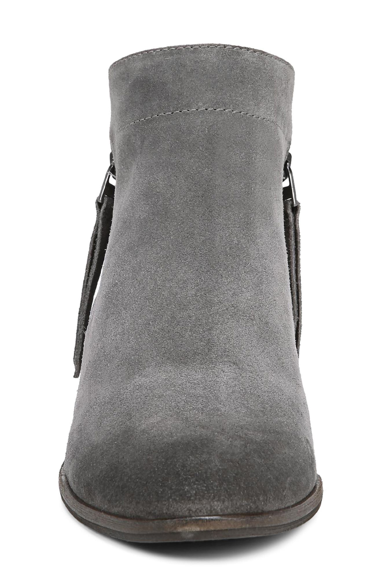 Packer Bootie,                             Alternate thumbnail 4, color,                             STEEL GREY SUEDE LEATHER