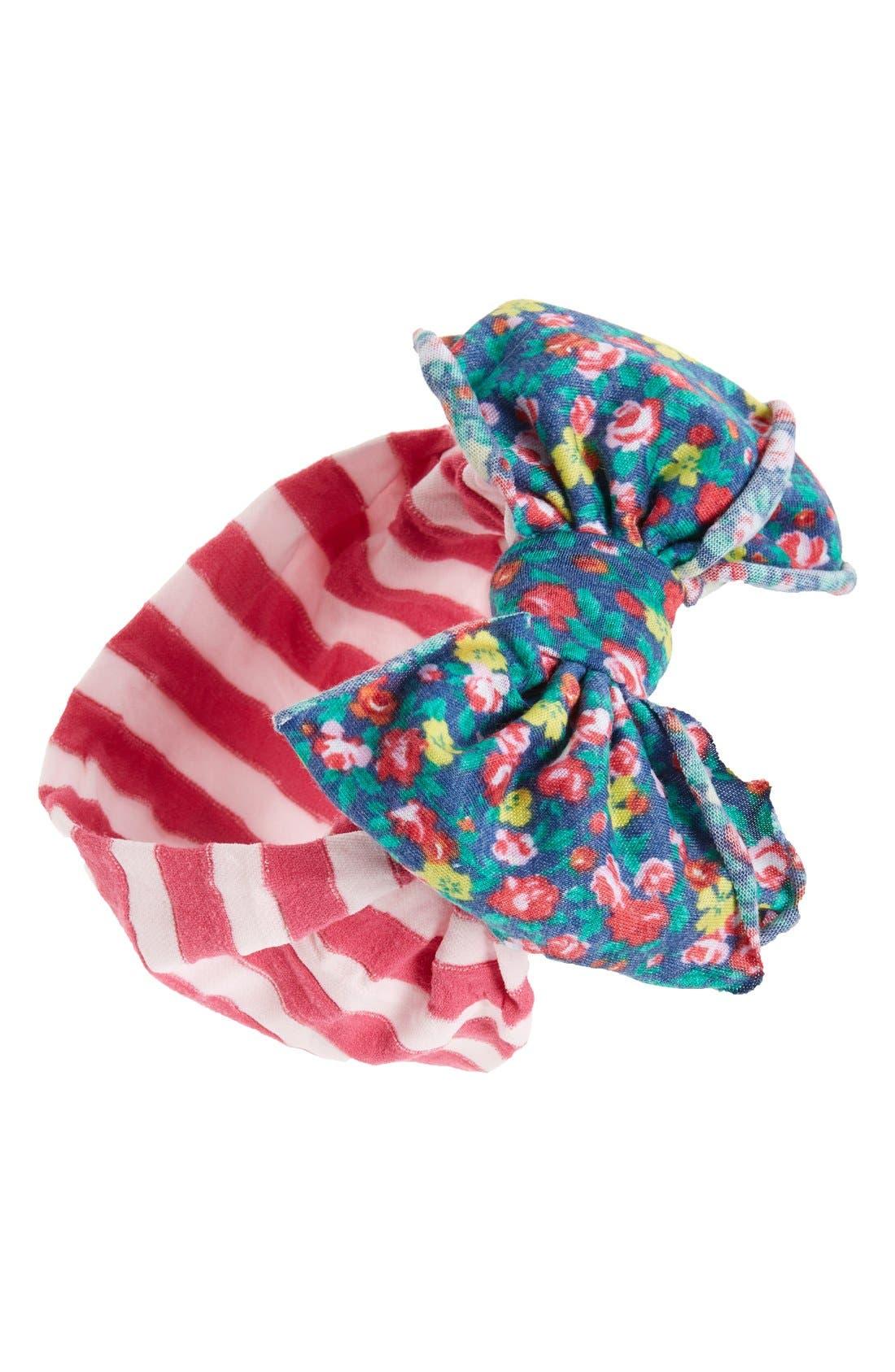Jersey Bow Headband,                             Main thumbnail 11, color,