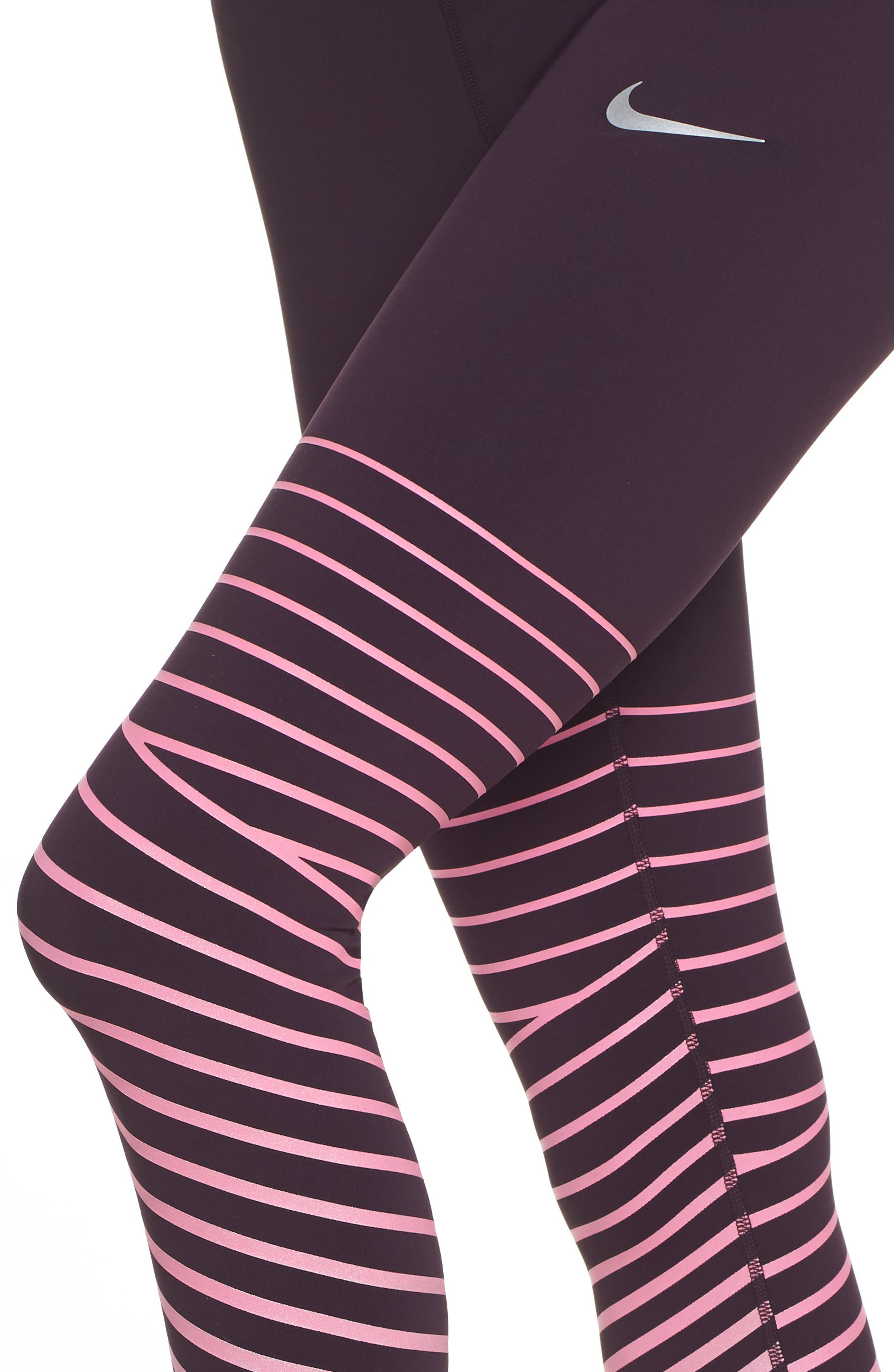 Power Epic Lux Flash Running Tights,                             Alternate thumbnail 14, color,