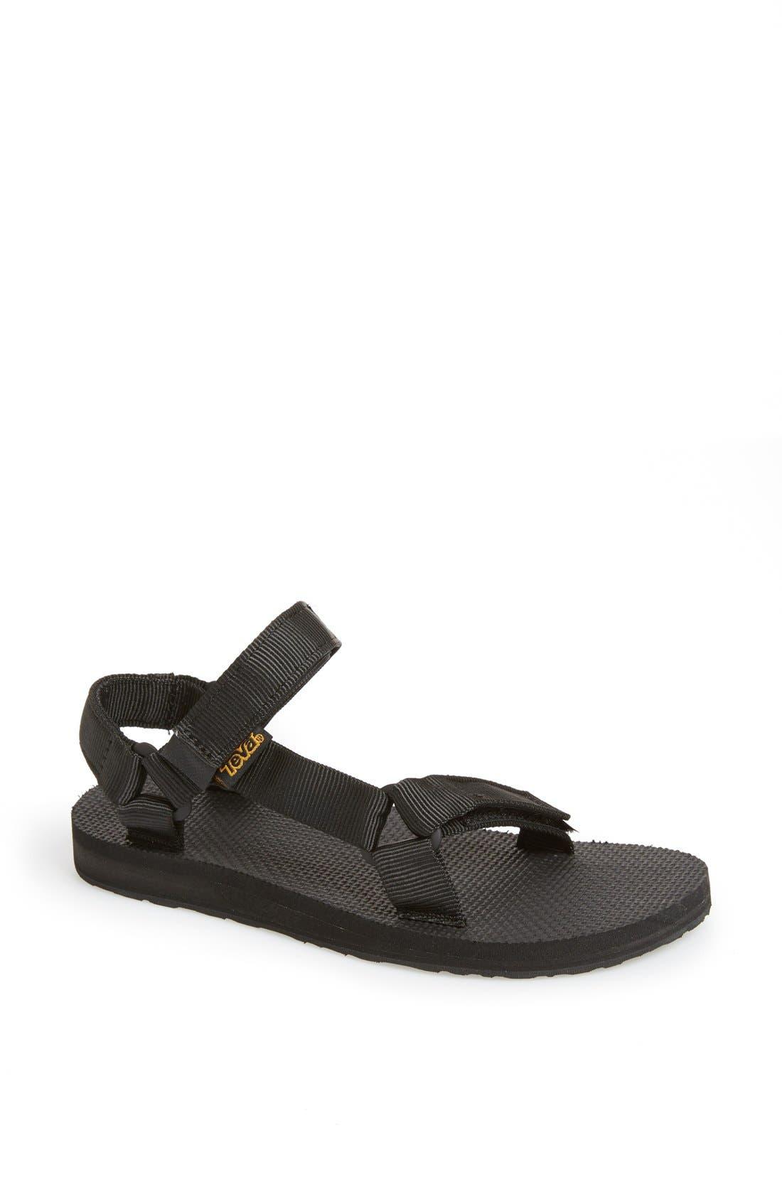 'Original Universal' Sandal,                         Main,                         color, BLACK