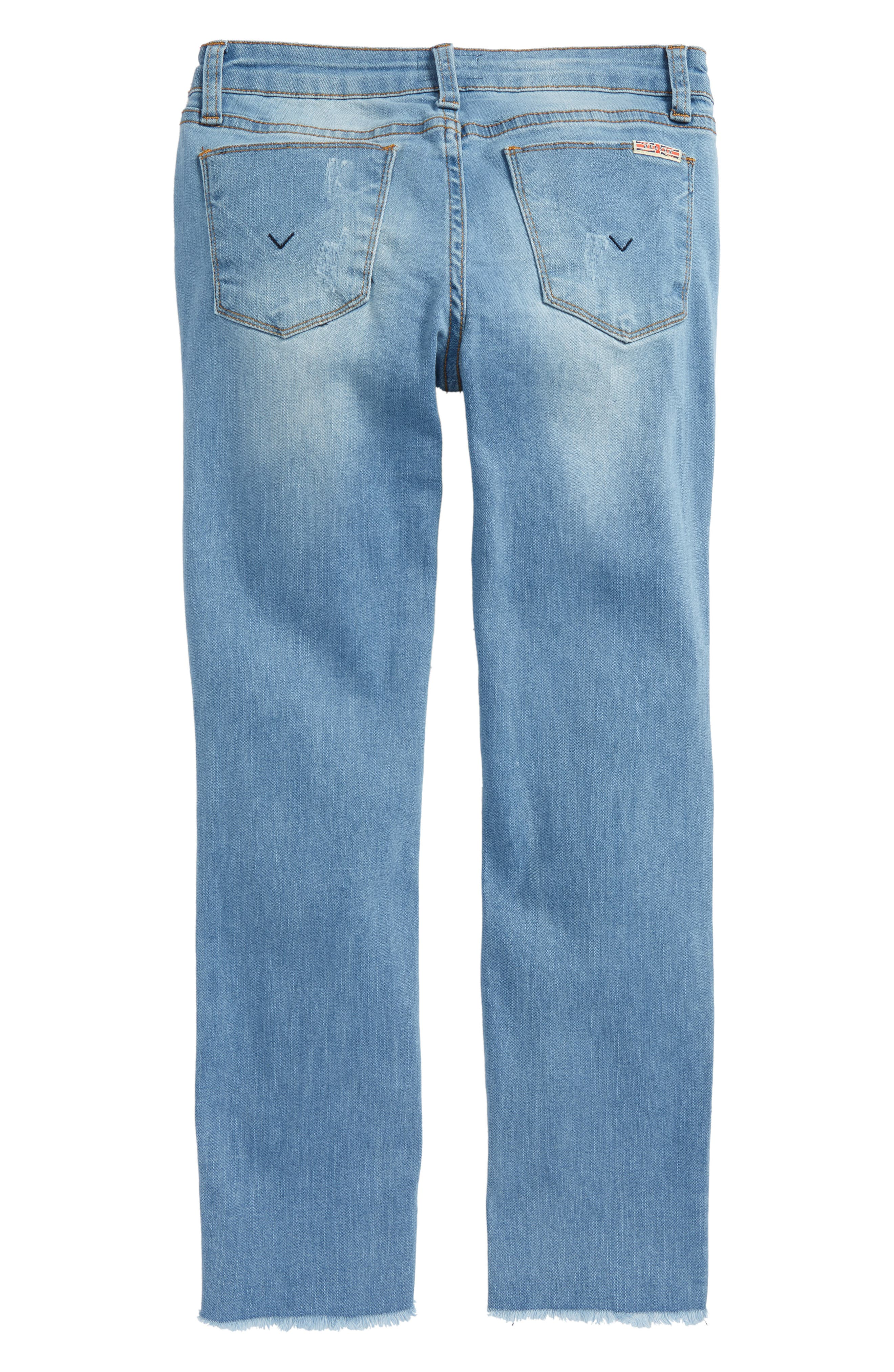 Lizzy Fray Hem Ankle Skinny Jeans,                             Alternate thumbnail 2, color,