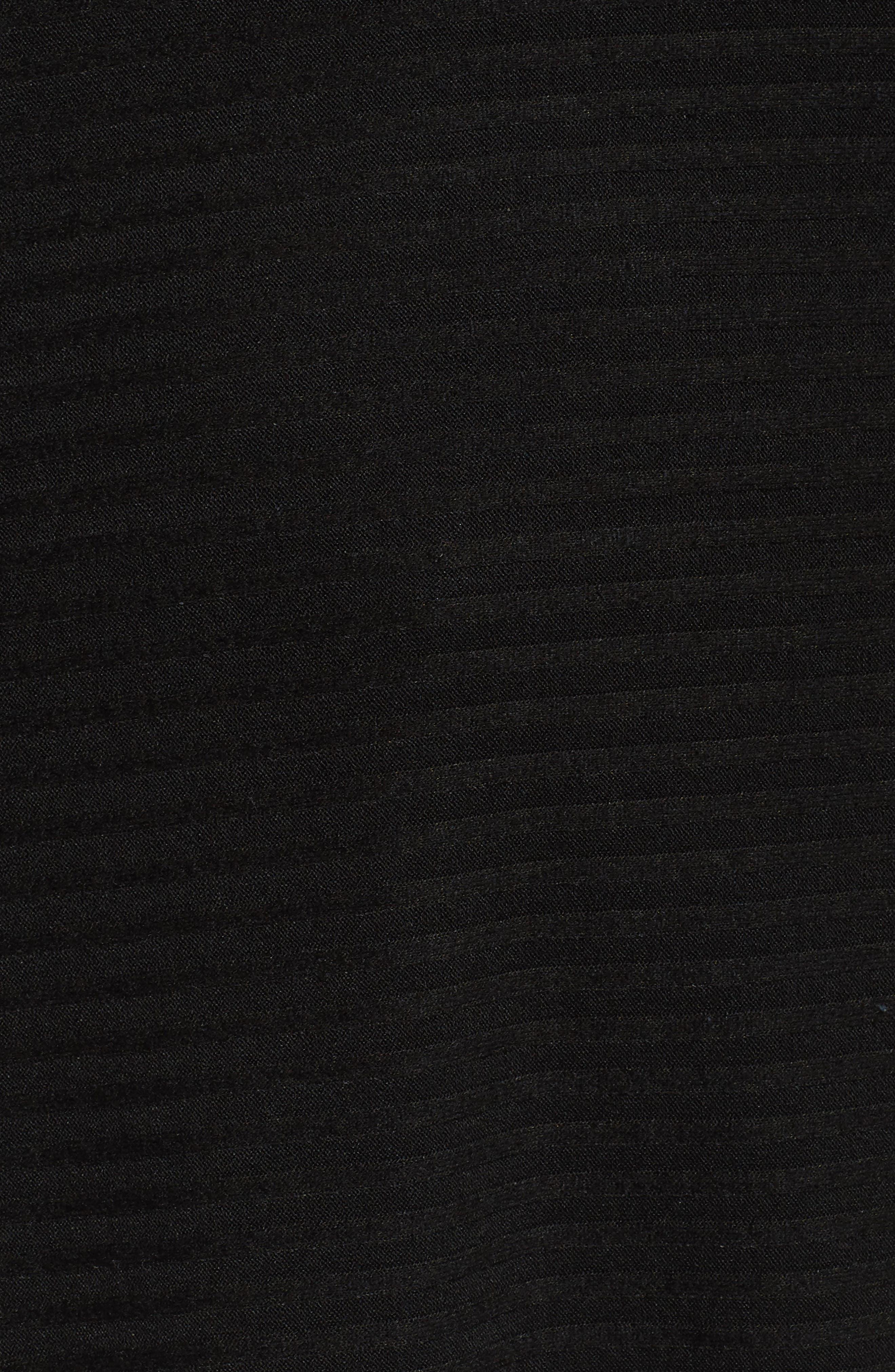 Cowl Neck Poncho Top,                             Alternate thumbnail 5, color,                             001