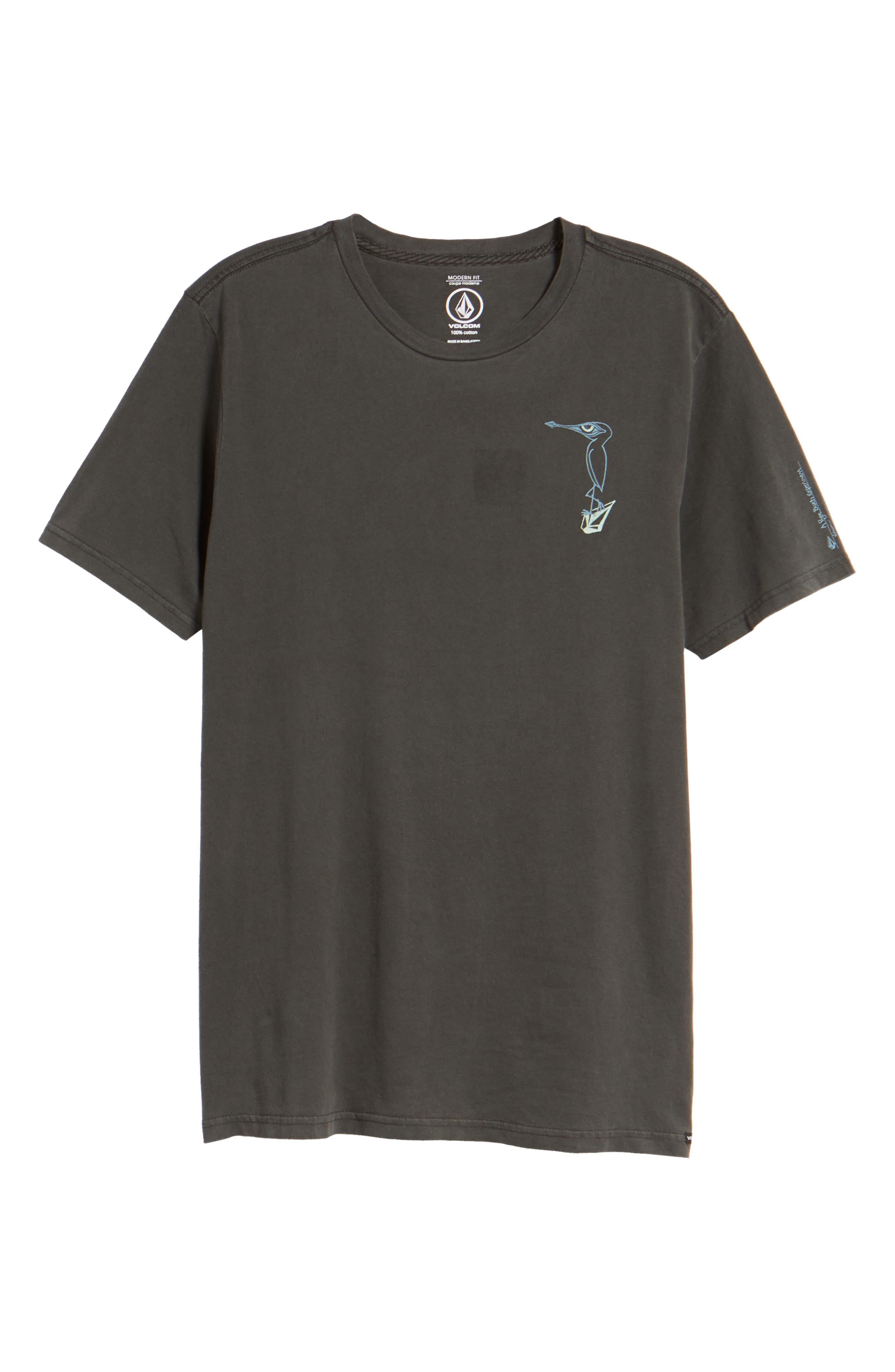 Burch Bird Graphic T-Shirt,                             Alternate thumbnail 6, color,