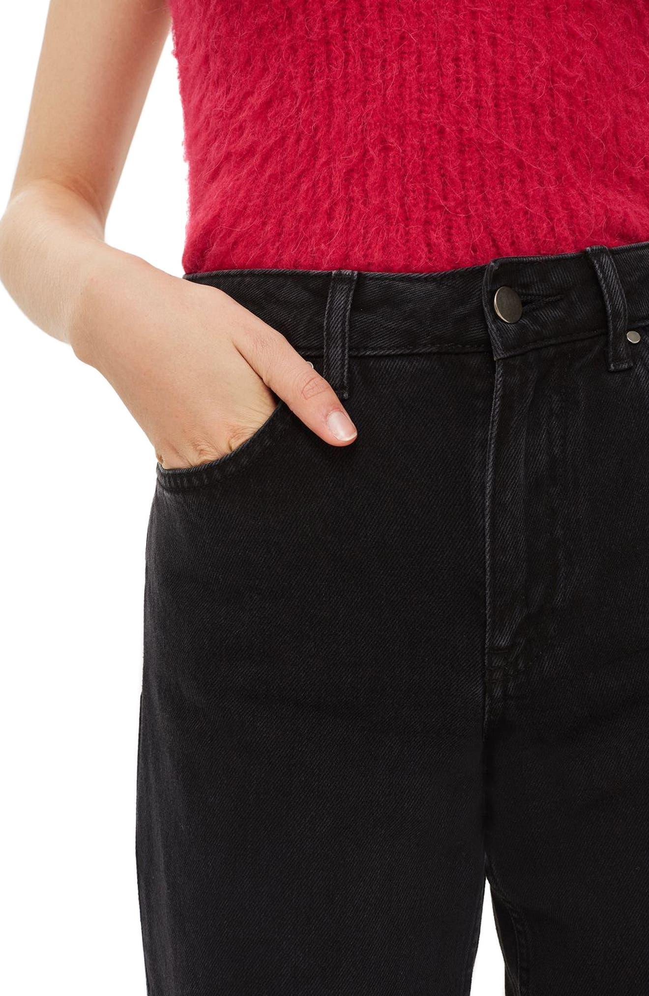 Boyfriend Jeans,                             Alternate thumbnail 4, color,                             001