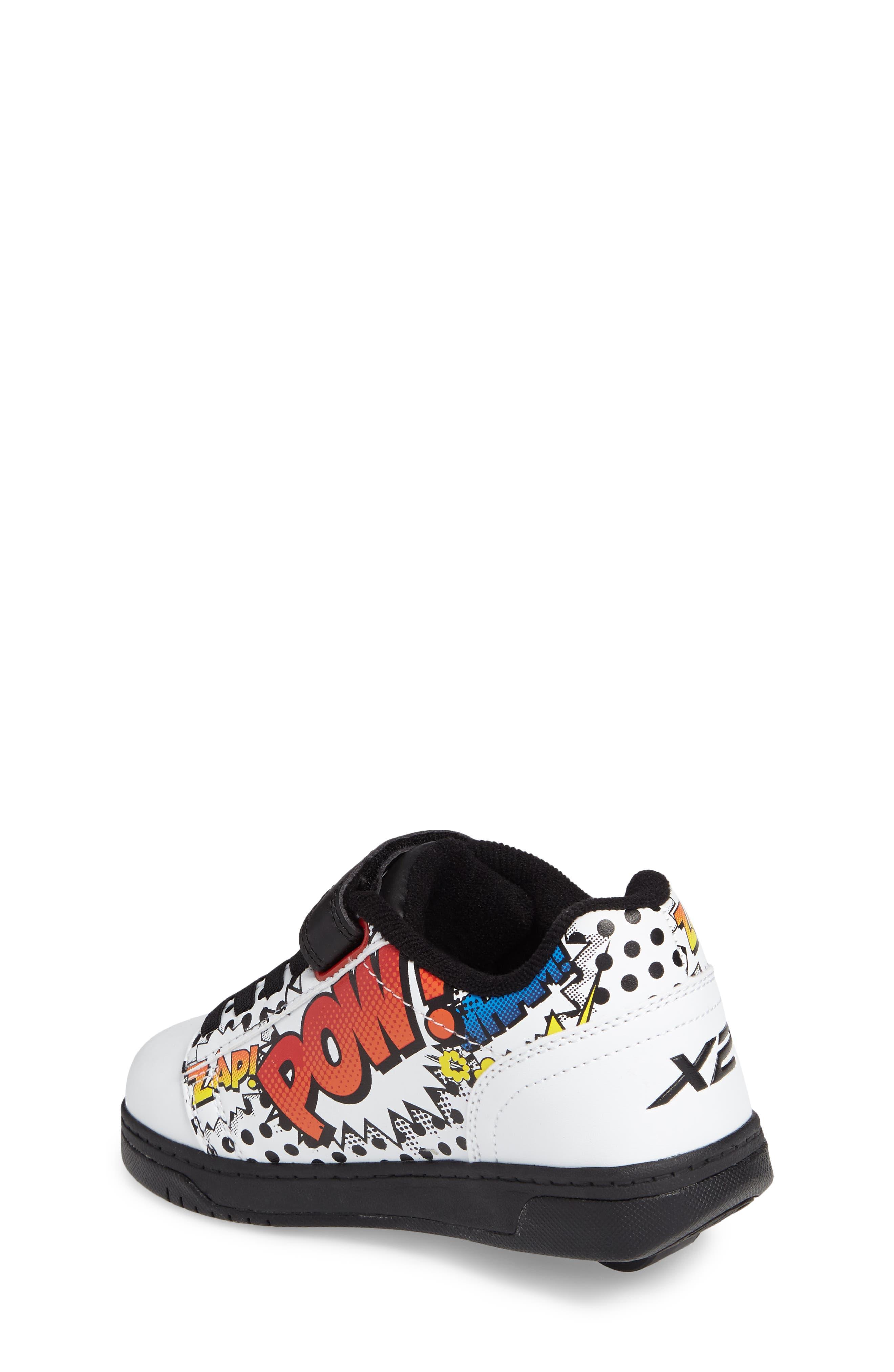 Dual Up X2 Comic Sneaker,                             Alternate thumbnail 2, color,                             WHITE/ BLACK/ MULTI COMIC