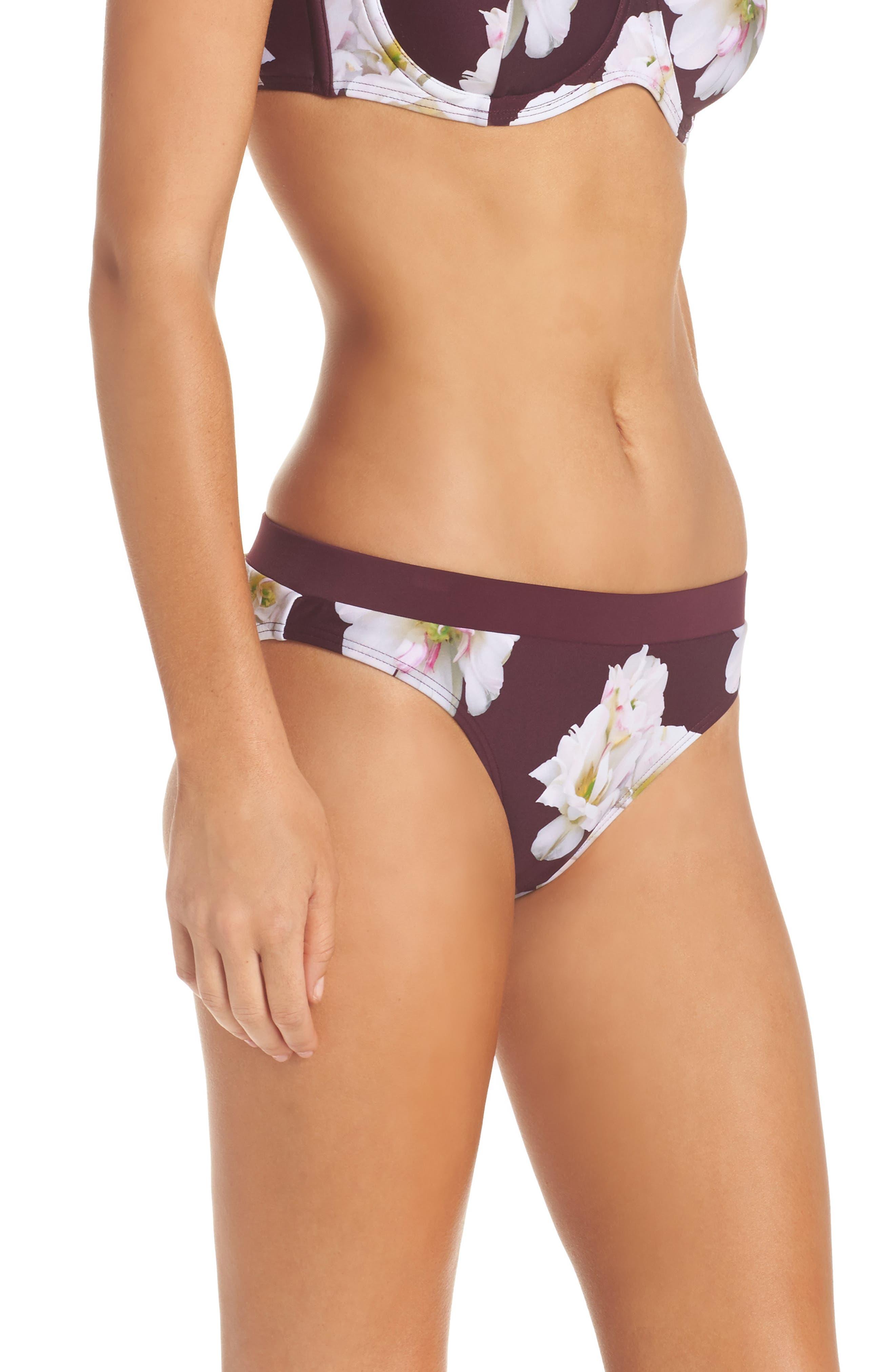 Garcela Gardenia Bikini Bottoms,                             Alternate thumbnail 3, color,                             930