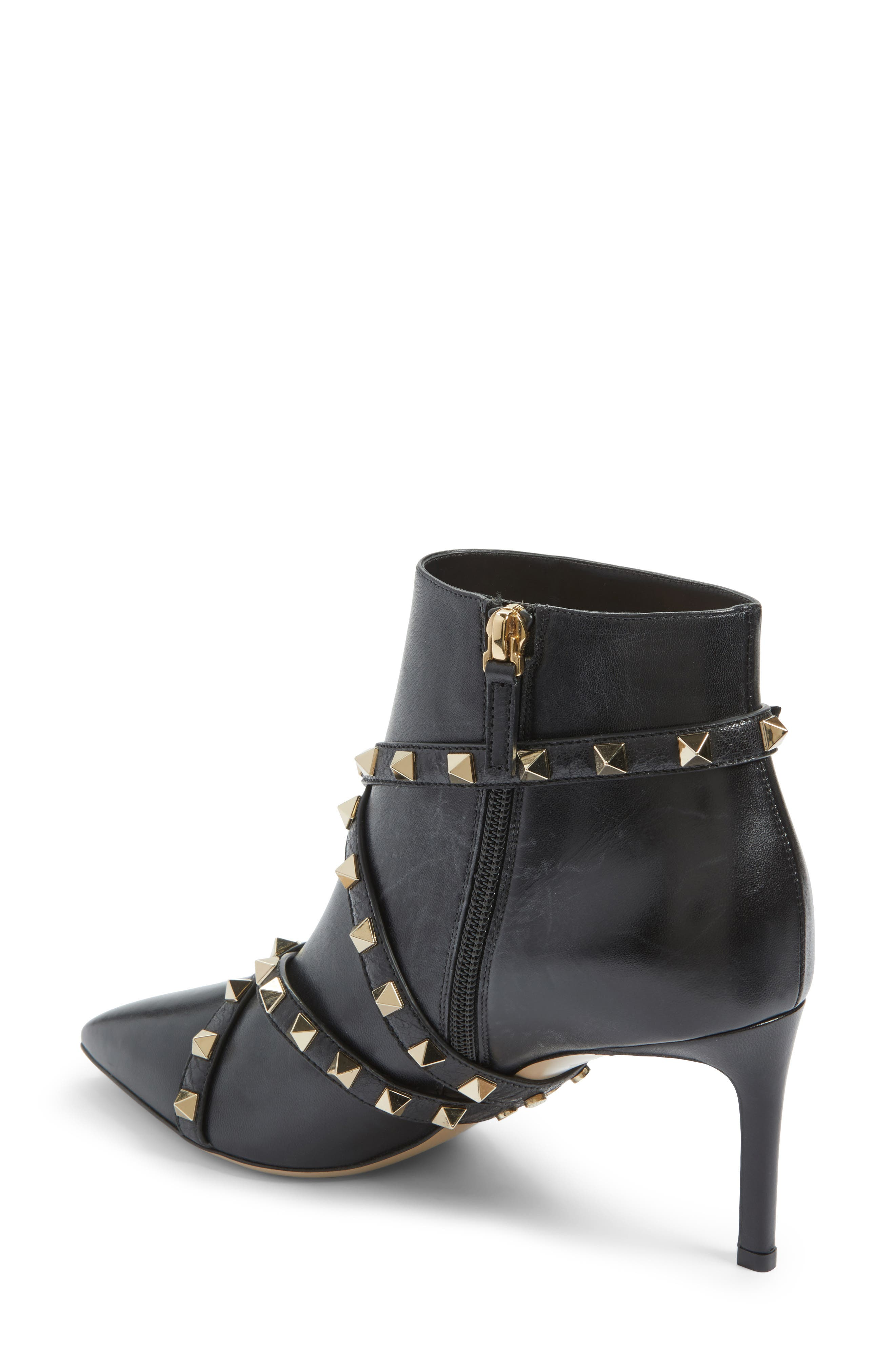 Rockstud Wrapped Bootie,                             Alternate thumbnail 2, color,                             001