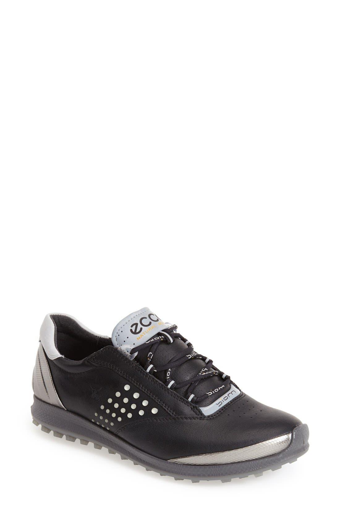 'BIOM' Hydromax<sup>®</sup> Waterproof Golf Shoe,                         Main,                         color,