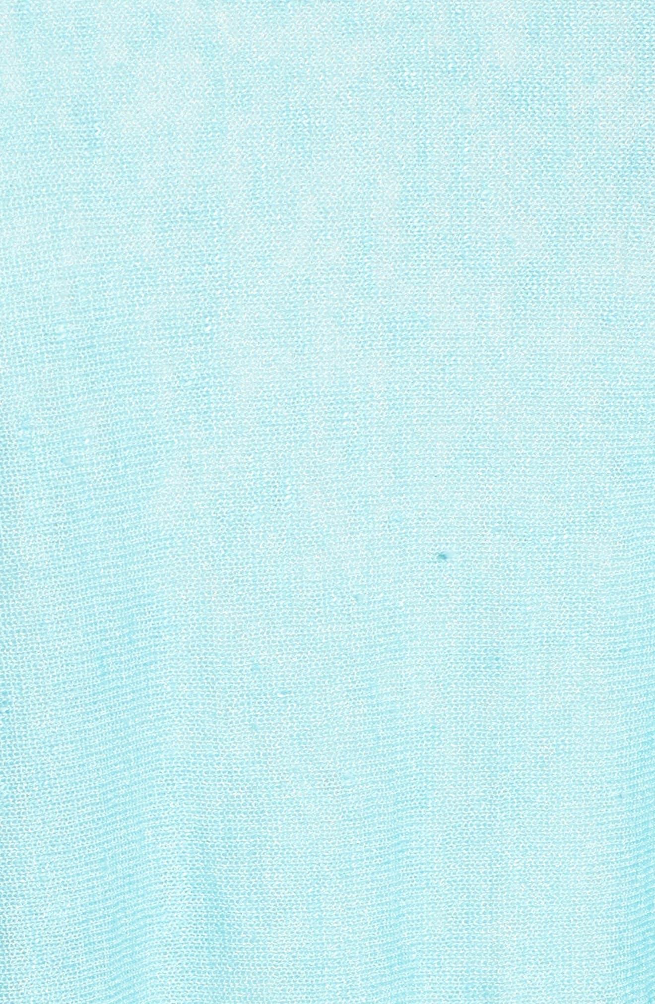 Organic Linen Blend Swing Sweater,                             Alternate thumbnail 41, color,