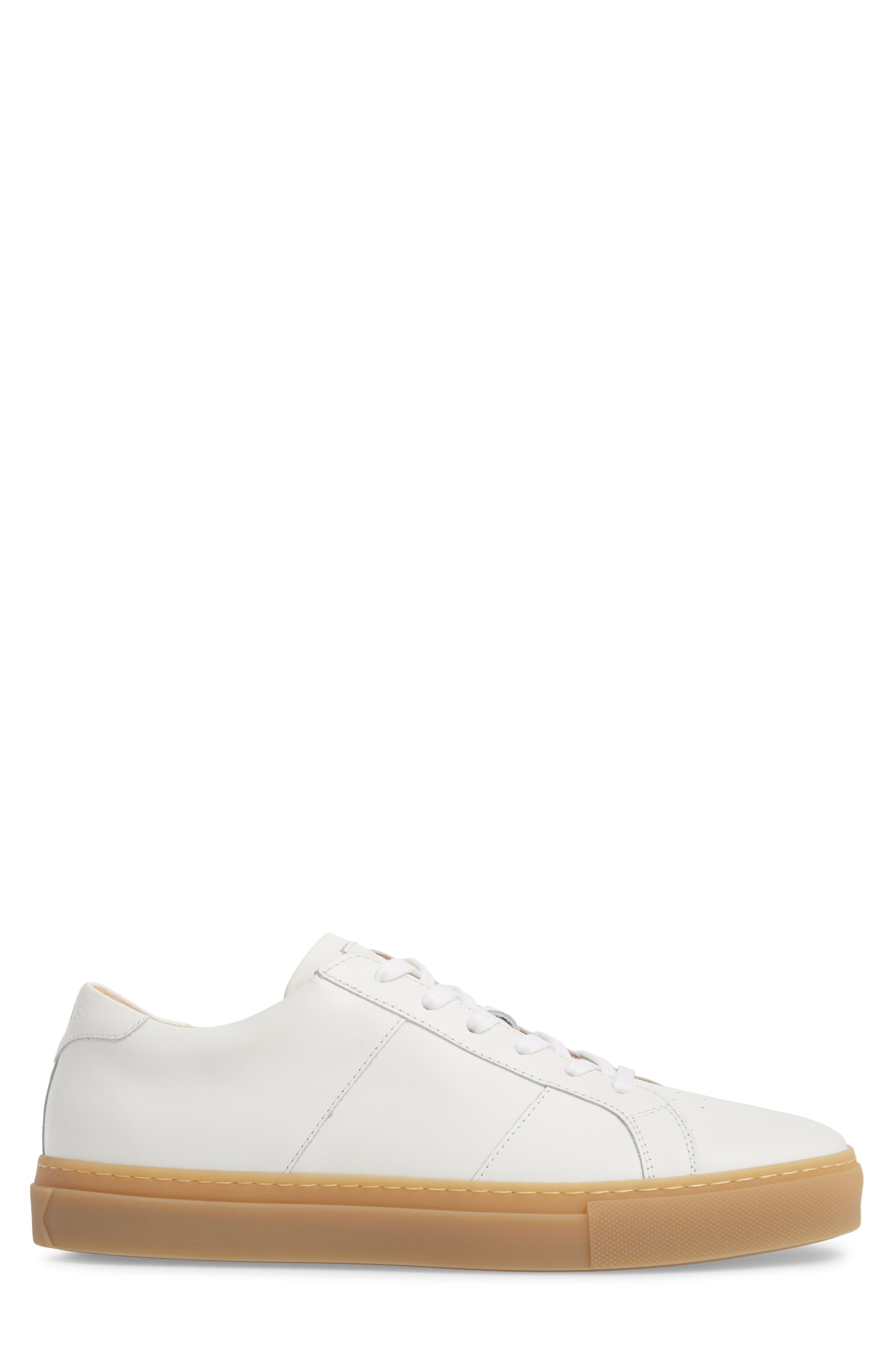 Royale Reverse Sneaker,                             Alternate thumbnail 3, color,                             WHITE/ GUM