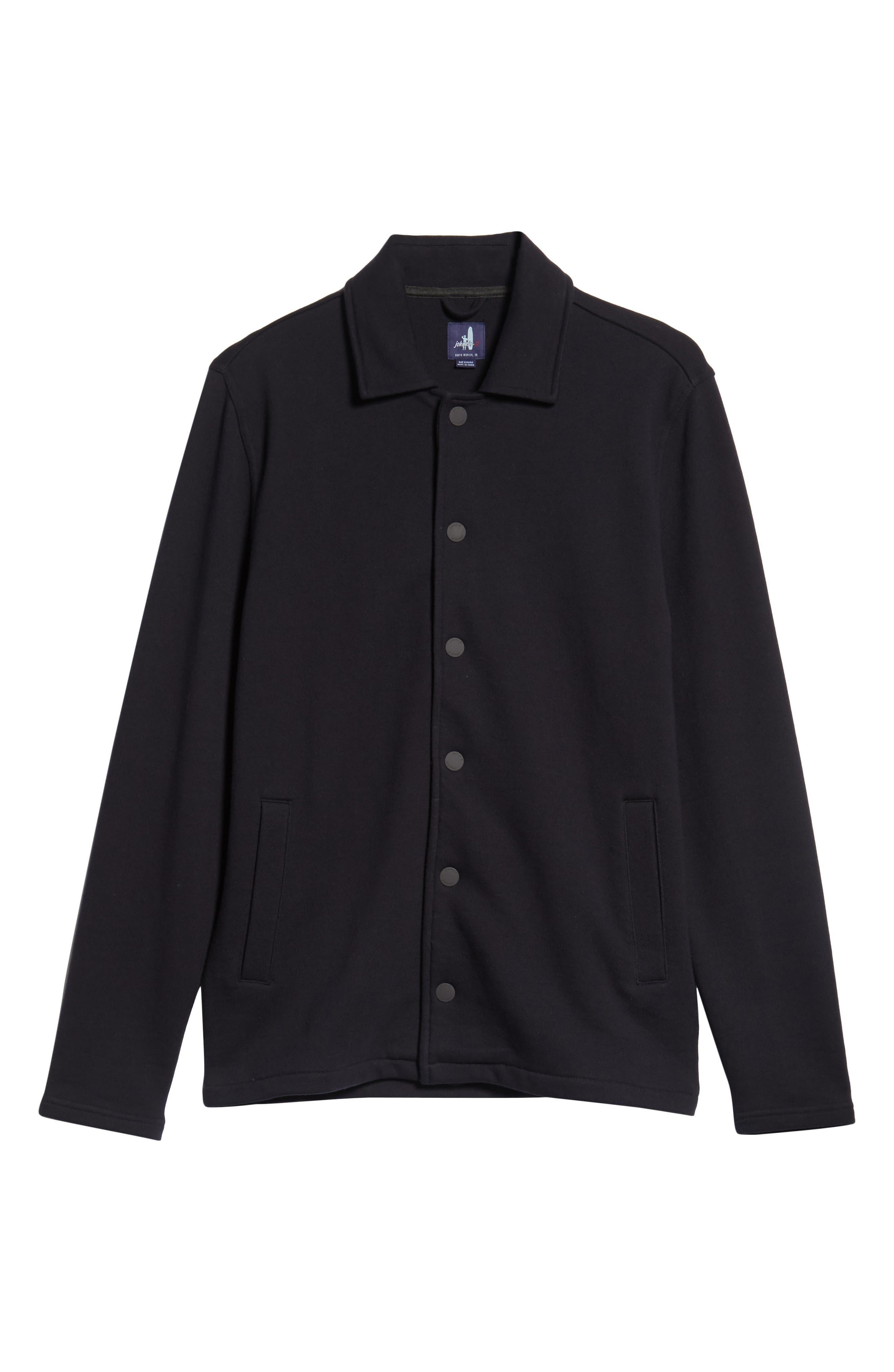 Norfolk Classic Fit Terry Jacket,                             Alternate thumbnail 5, color,                             464