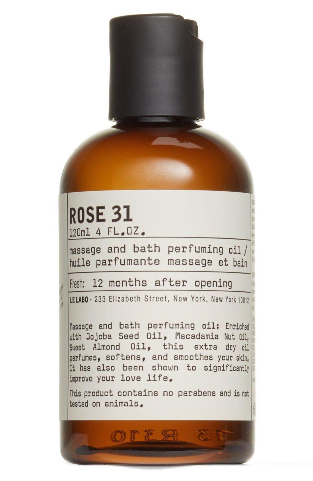 Rose 31 Body Oil,                             Alternate thumbnail 2, color,                             NO COLOR