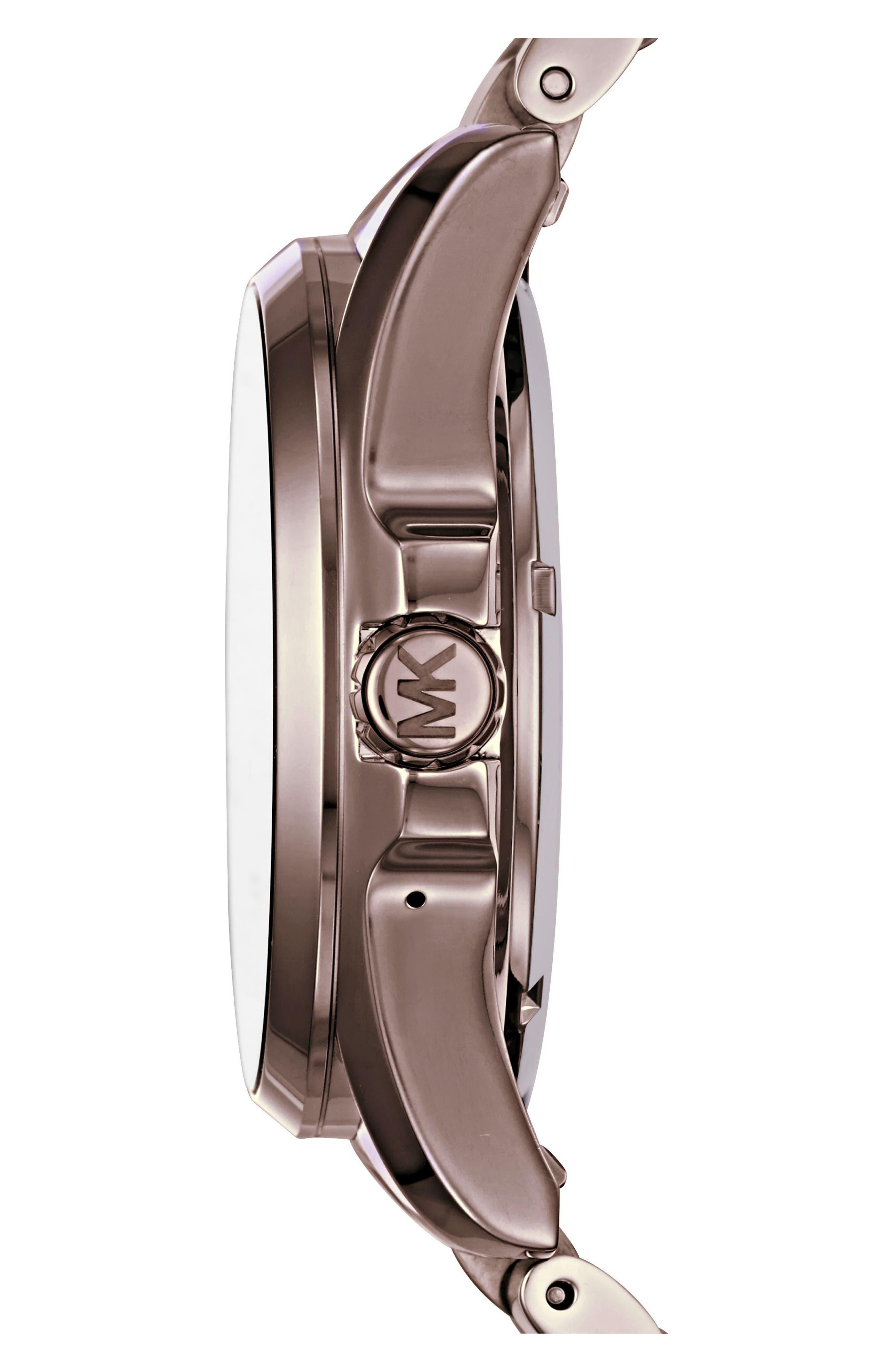 MICHAEL Michael Kors Bradshaw Access Bracelet Smart Watch, 45mm,                             Alternate thumbnail 18, color,