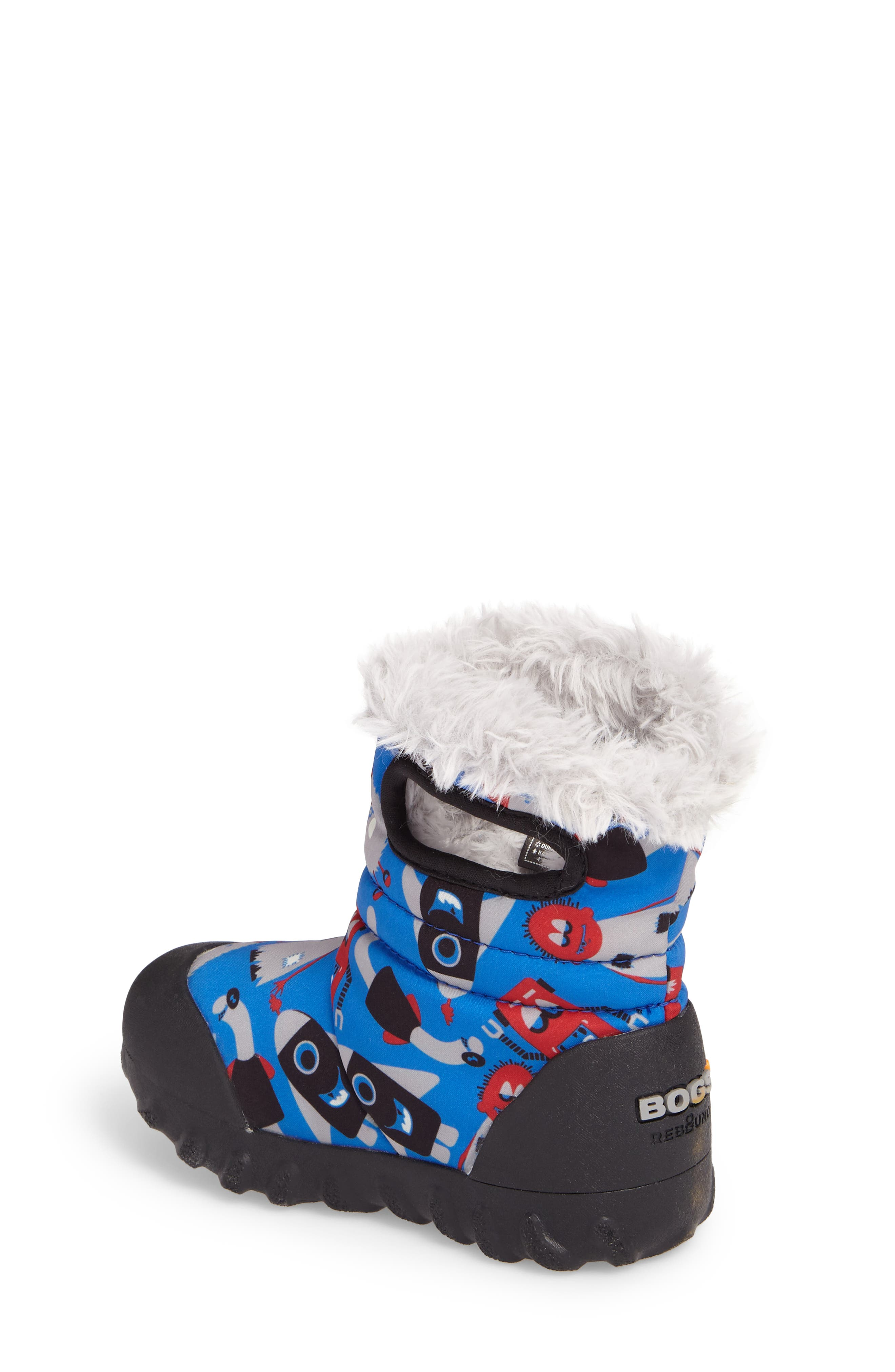 B-MOC Monsters Waterproof Insulated Faux Fur Winter Boot,                             Alternate thumbnail 2, color,                             409