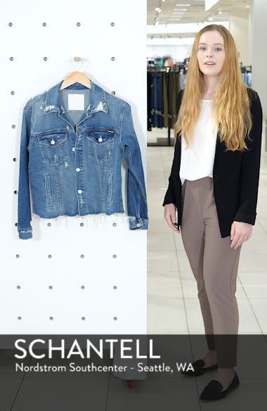 The Cut Denim Jacket, sales video thumbnail