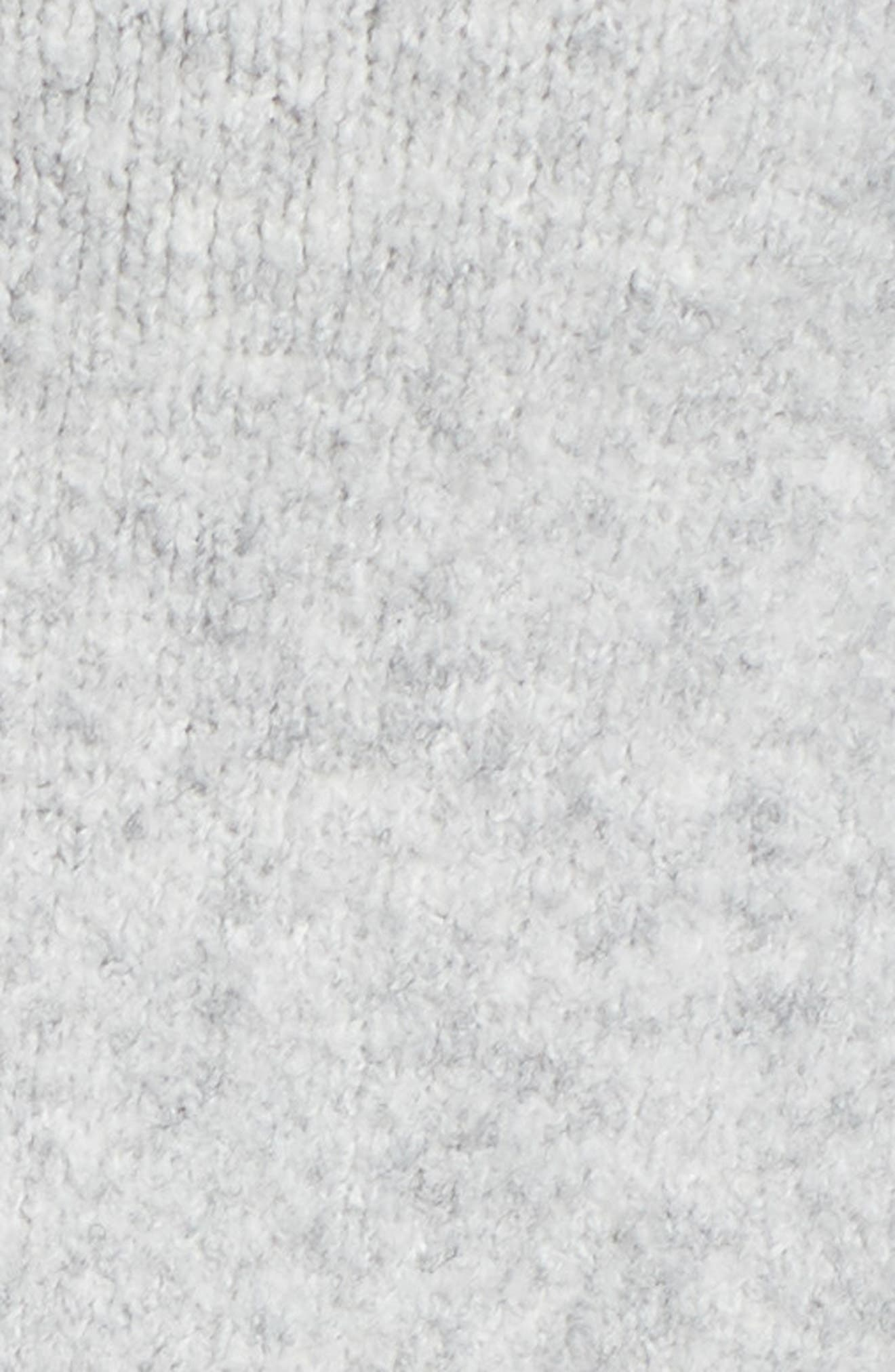 Colorblock Sweater,                             Alternate thumbnail 5, color,                             GREY LT HEATHER CB