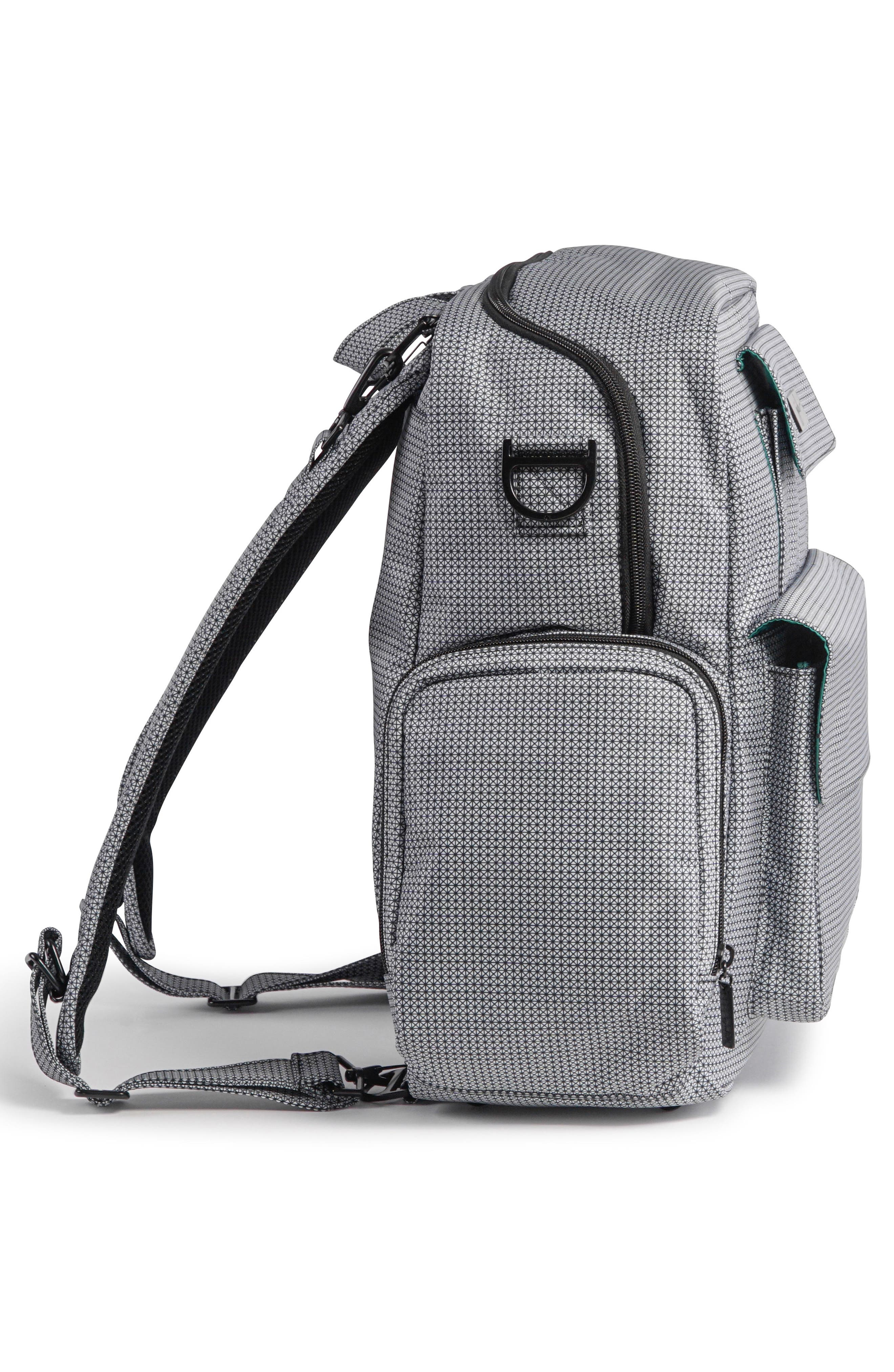 Be Nurtured Pumping Backpack,                             Alternate thumbnail 5, color,                             BLACK MATRIX