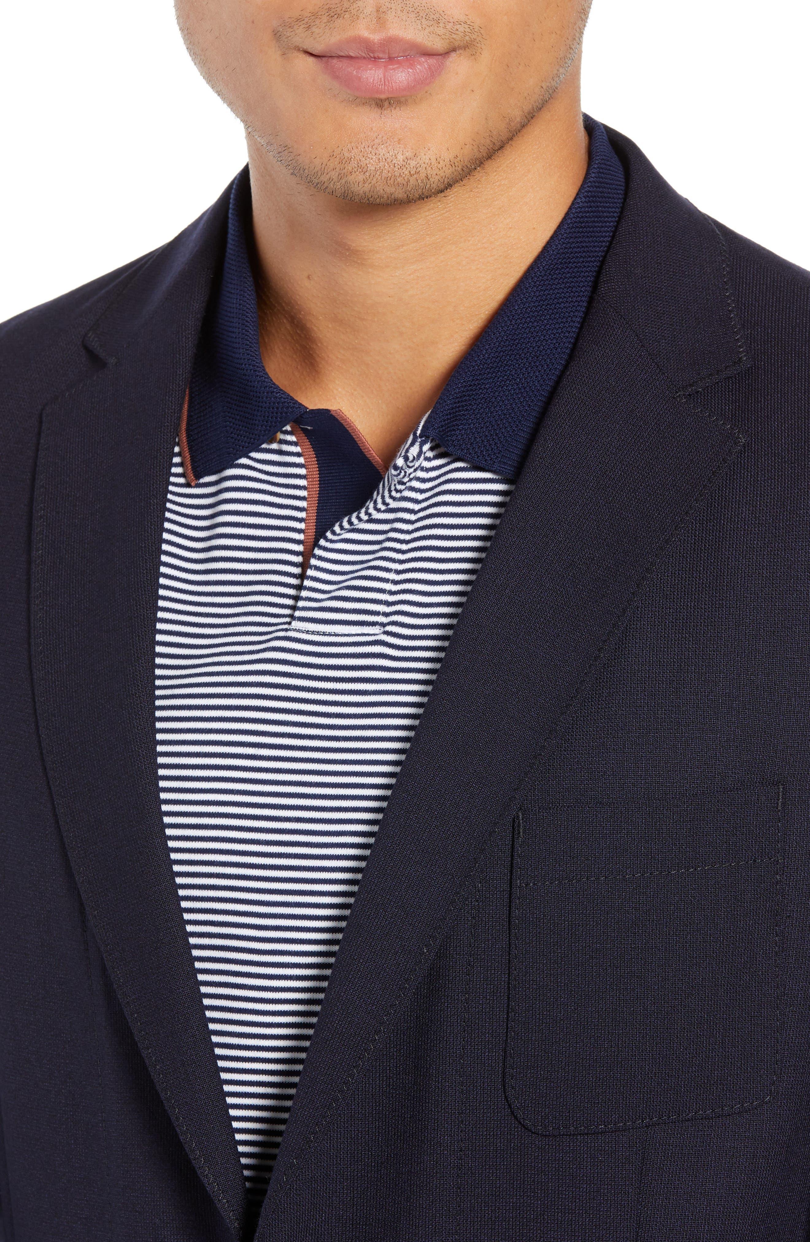 Noswen Slim Fit Sport Coat,                             Alternate thumbnail 4, color,                             BLUE
