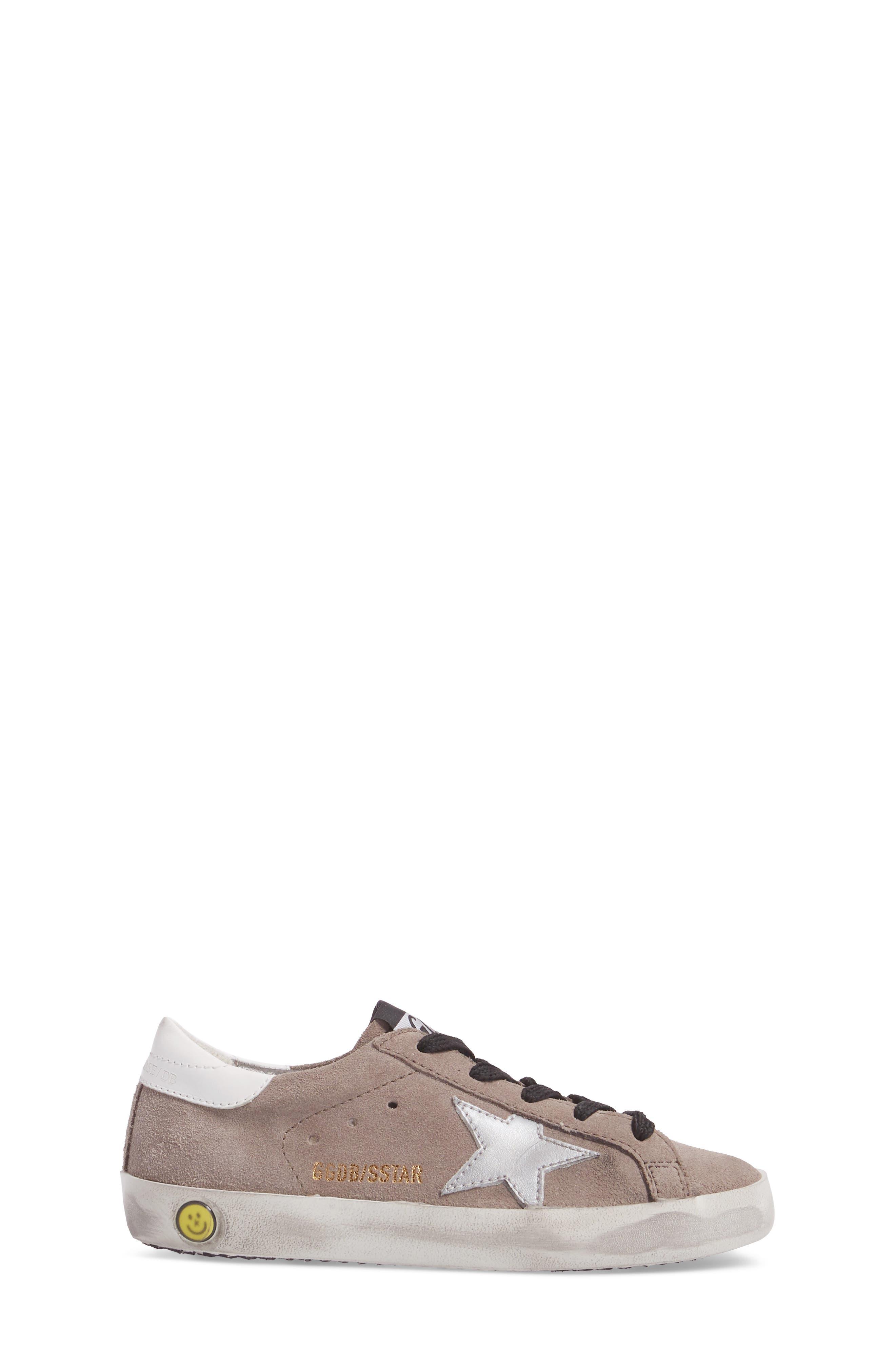 Superstar Low Top Sneaker,                             Alternate thumbnail 3, color,                             030
