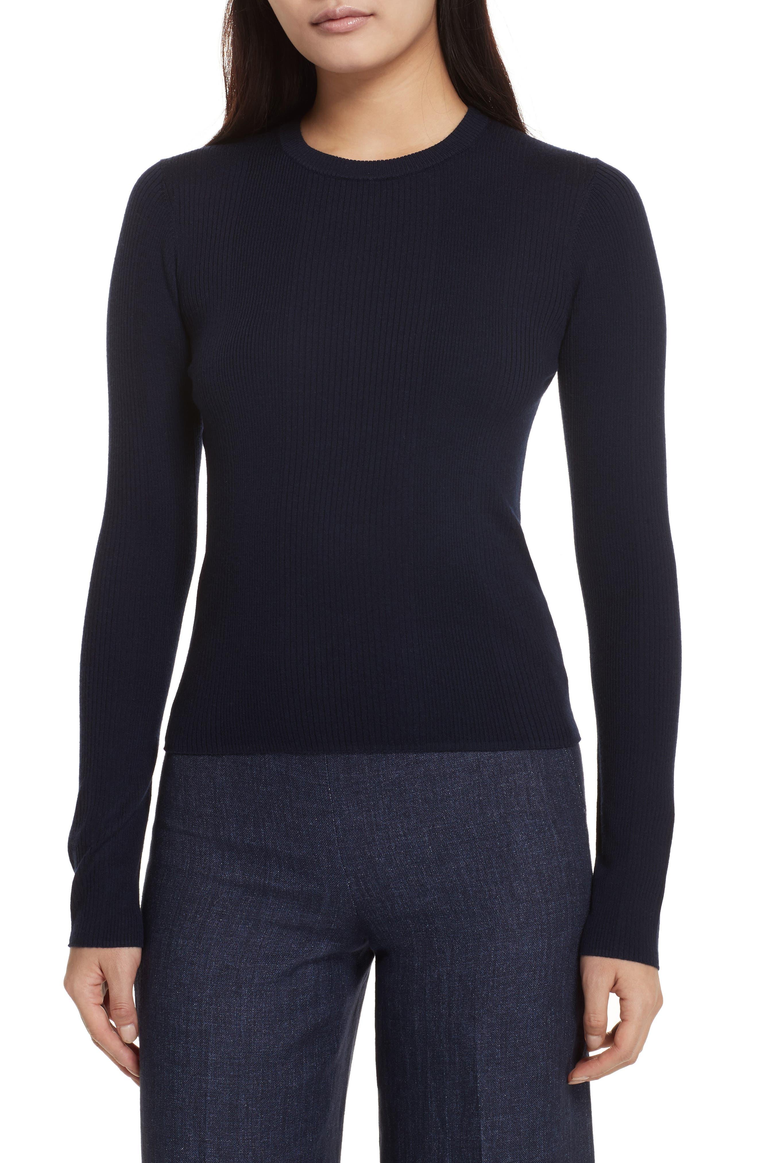 Merino Wool Blend Sweater,                             Main thumbnail 3, color,