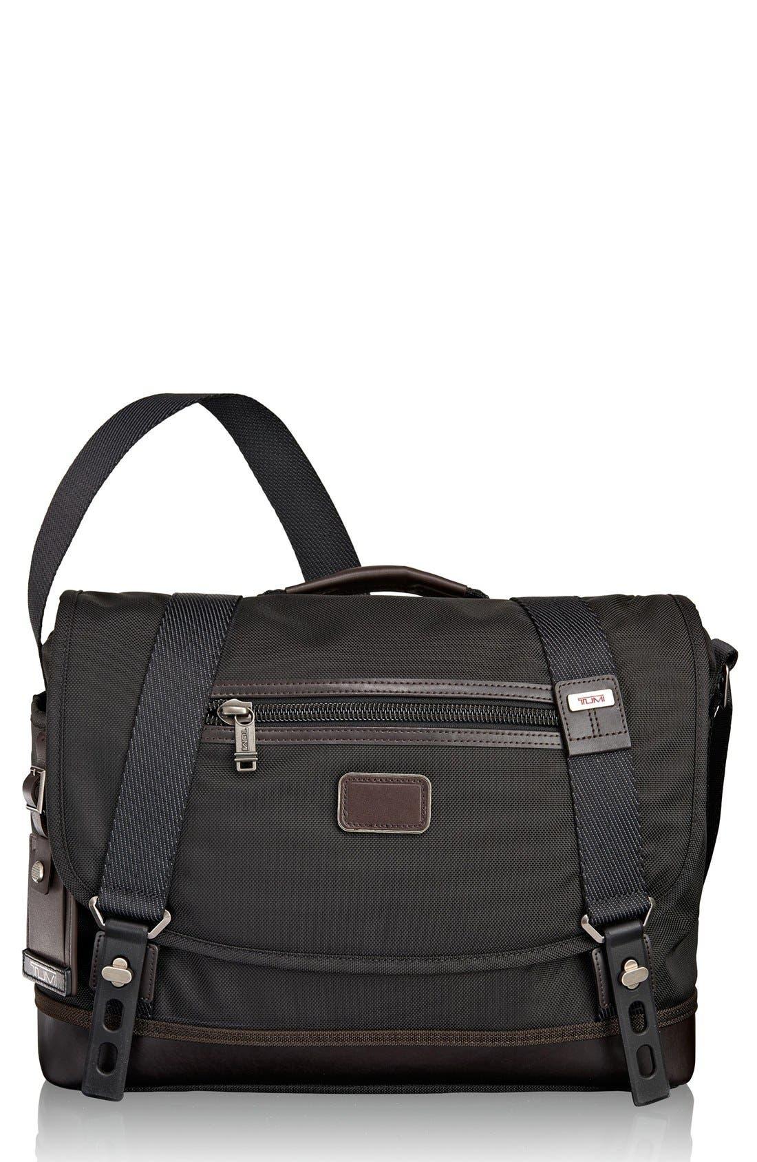 'Alpha Bravo - Foster' Messenger Bag,                             Main thumbnail 1, color,                             001