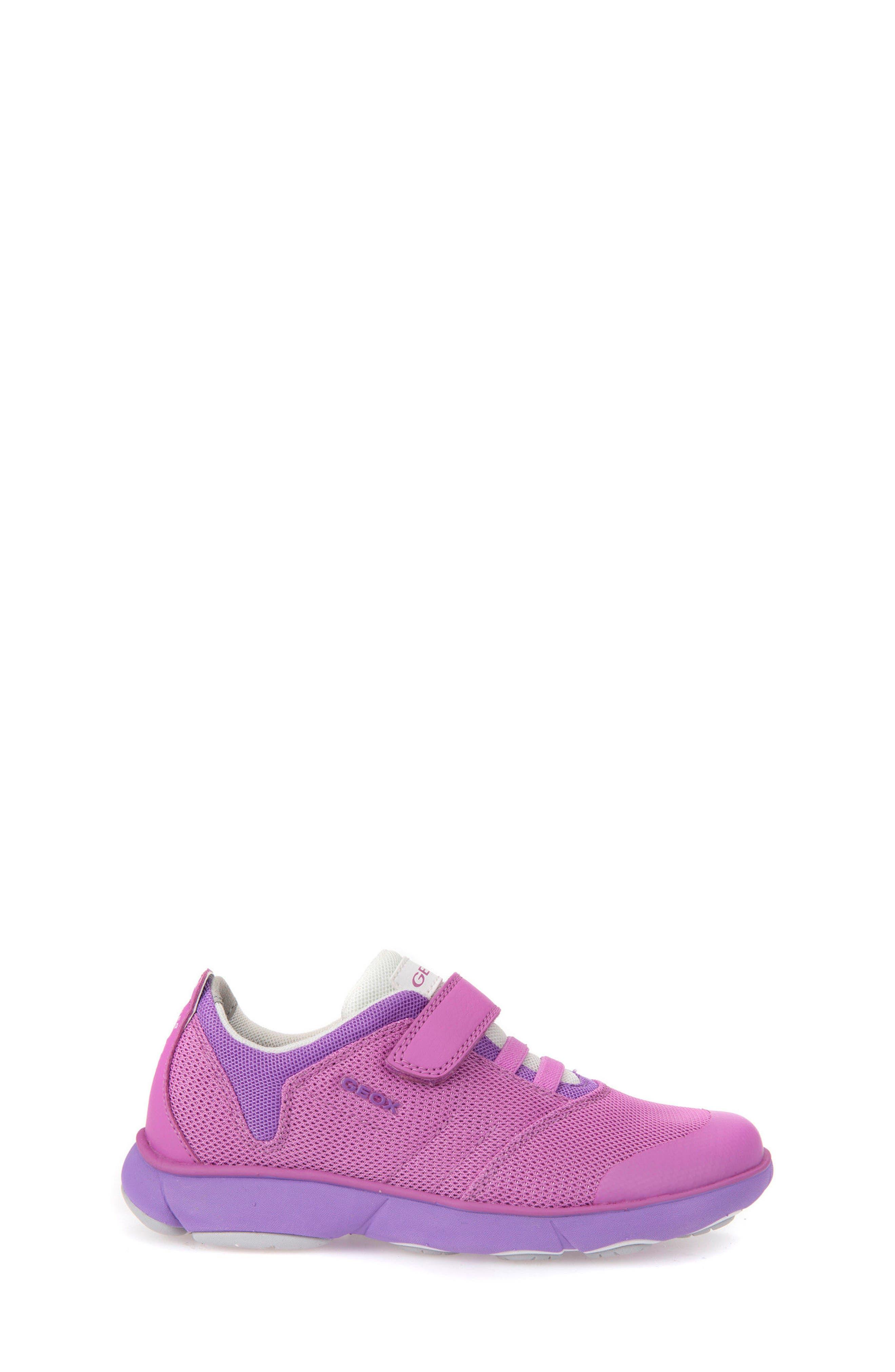 Jr Nebula Waterproof Sneaker,                             Alternate thumbnail 3, color,                             FUCHSIA