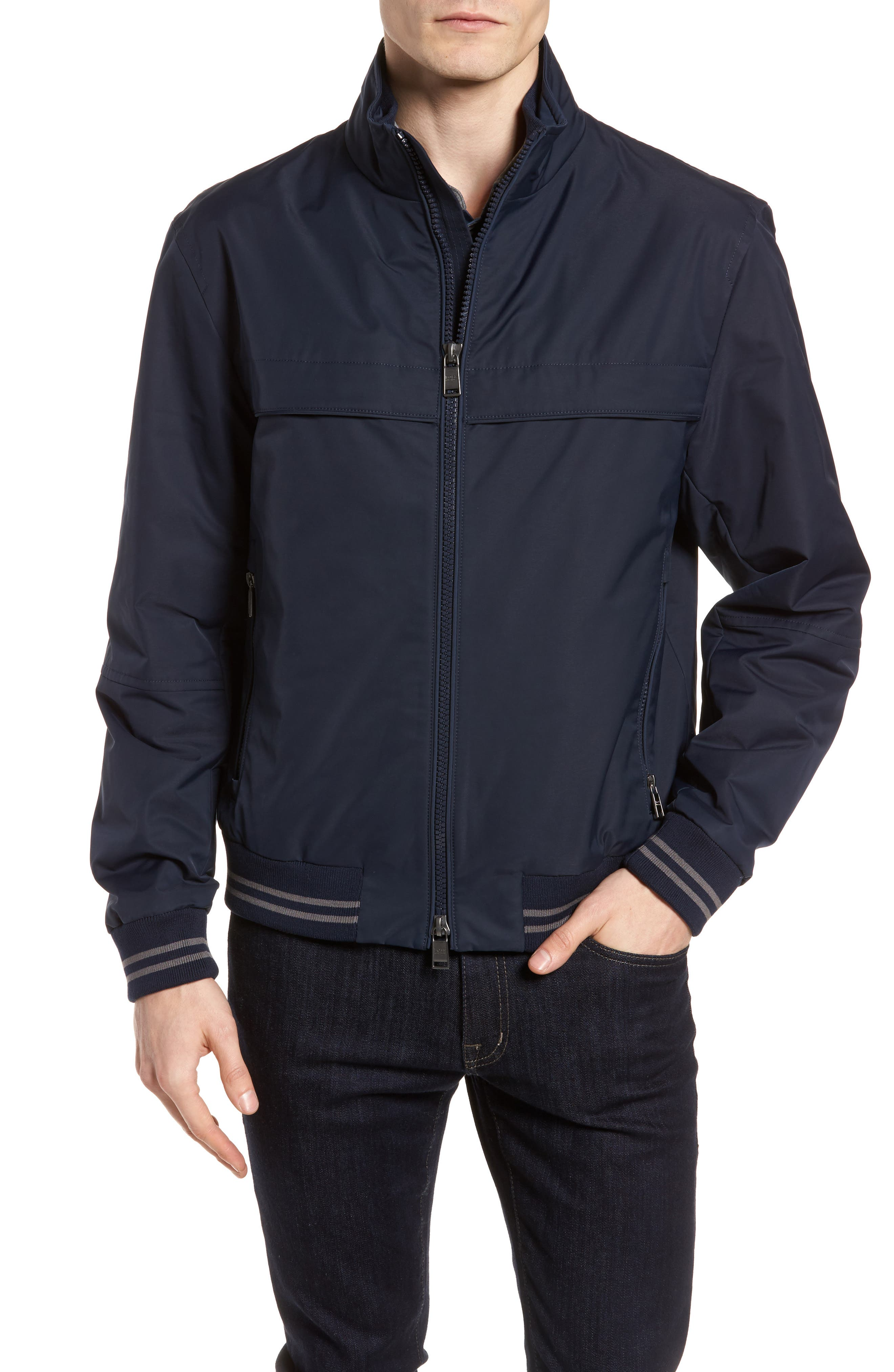 Cossito Regular Fit Bomber Jacket,                         Main,                         color, 410