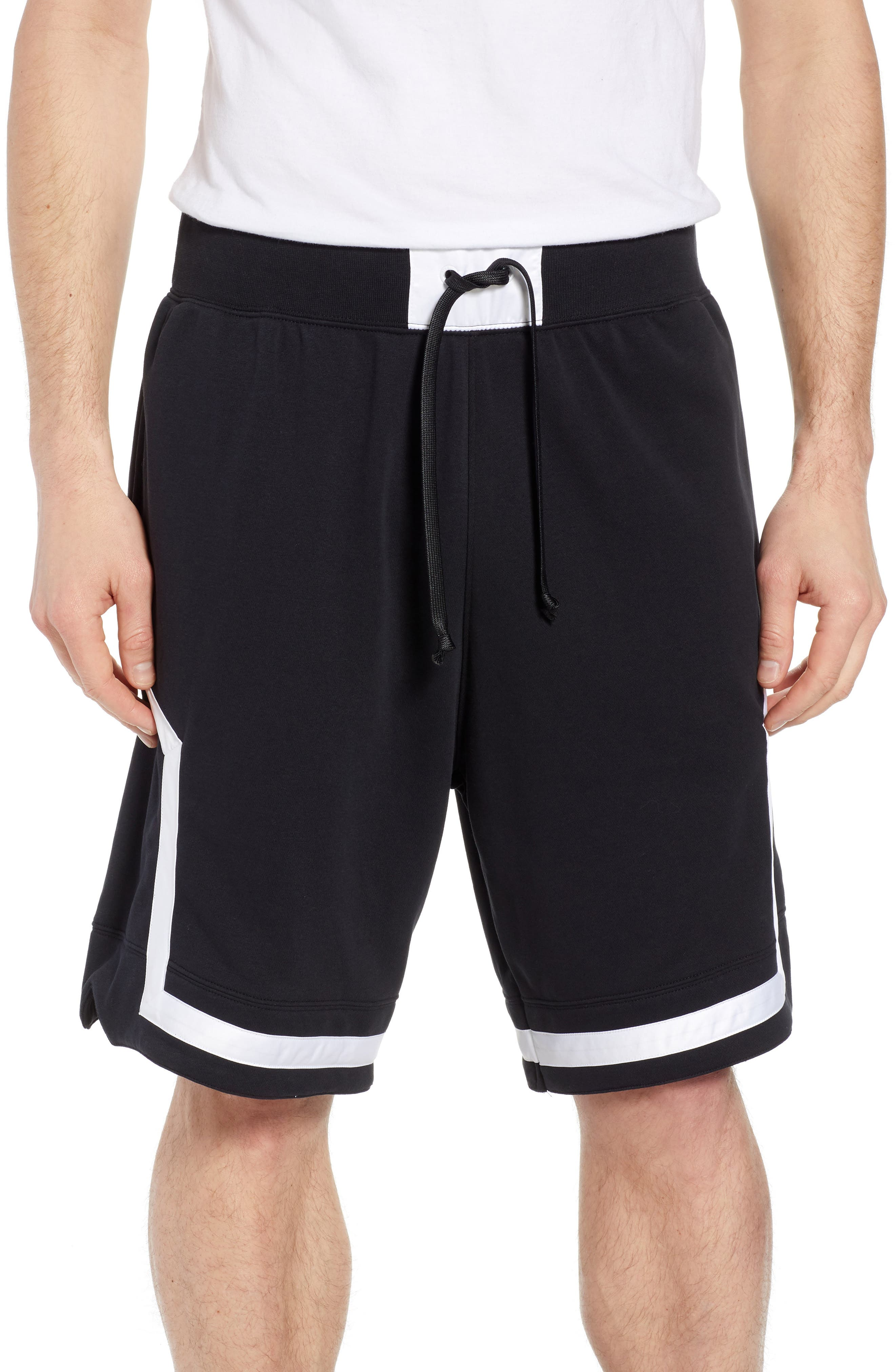 Air Force One Shorts,                         Main,                         color, BLACK/ WHITE