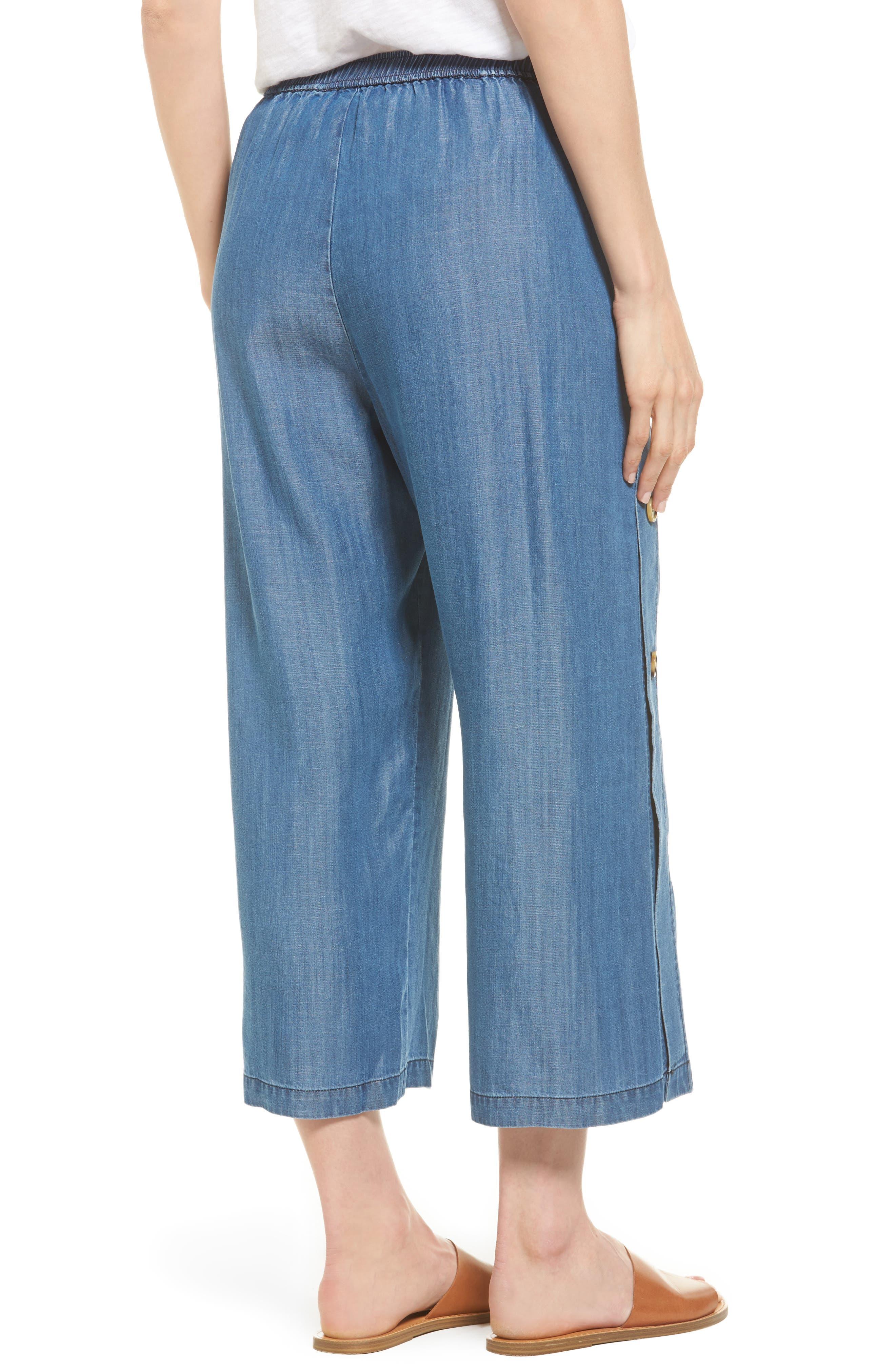 Watson Wide Leg Crop Pants,                             Alternate thumbnail 2, color,                             496