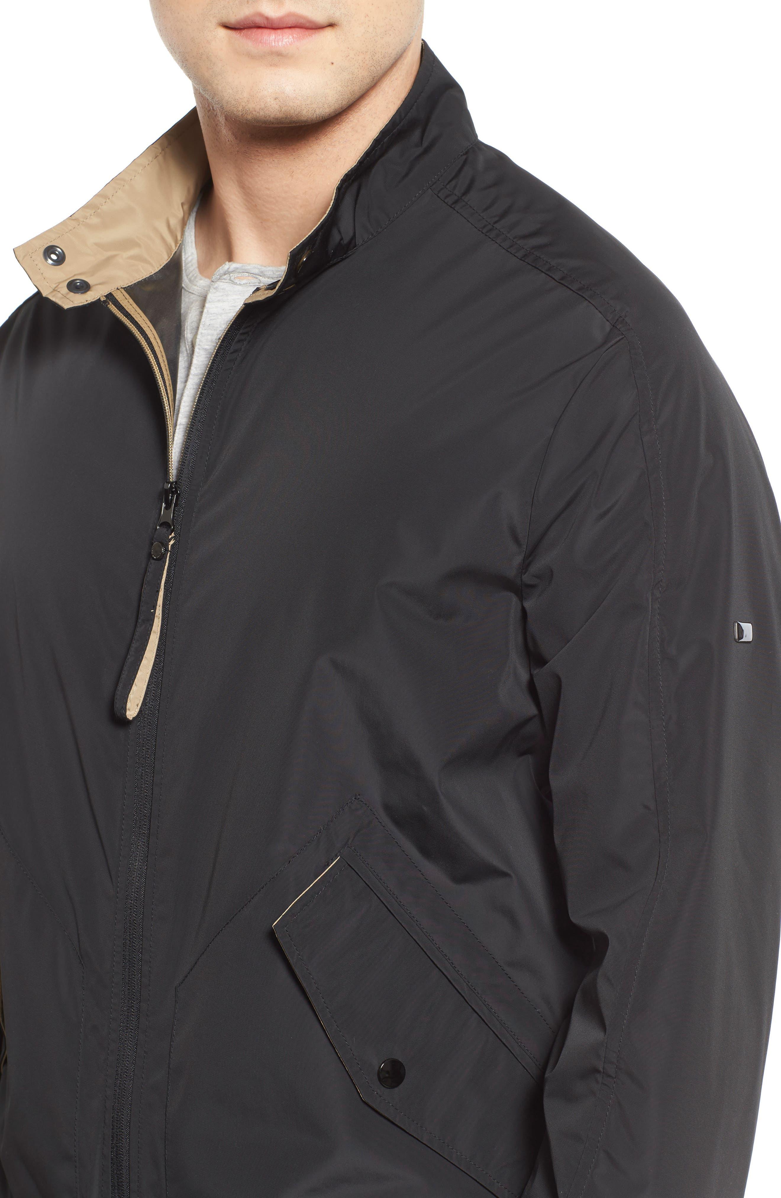 Moto Jacket,                             Alternate thumbnail 4, color,                             001