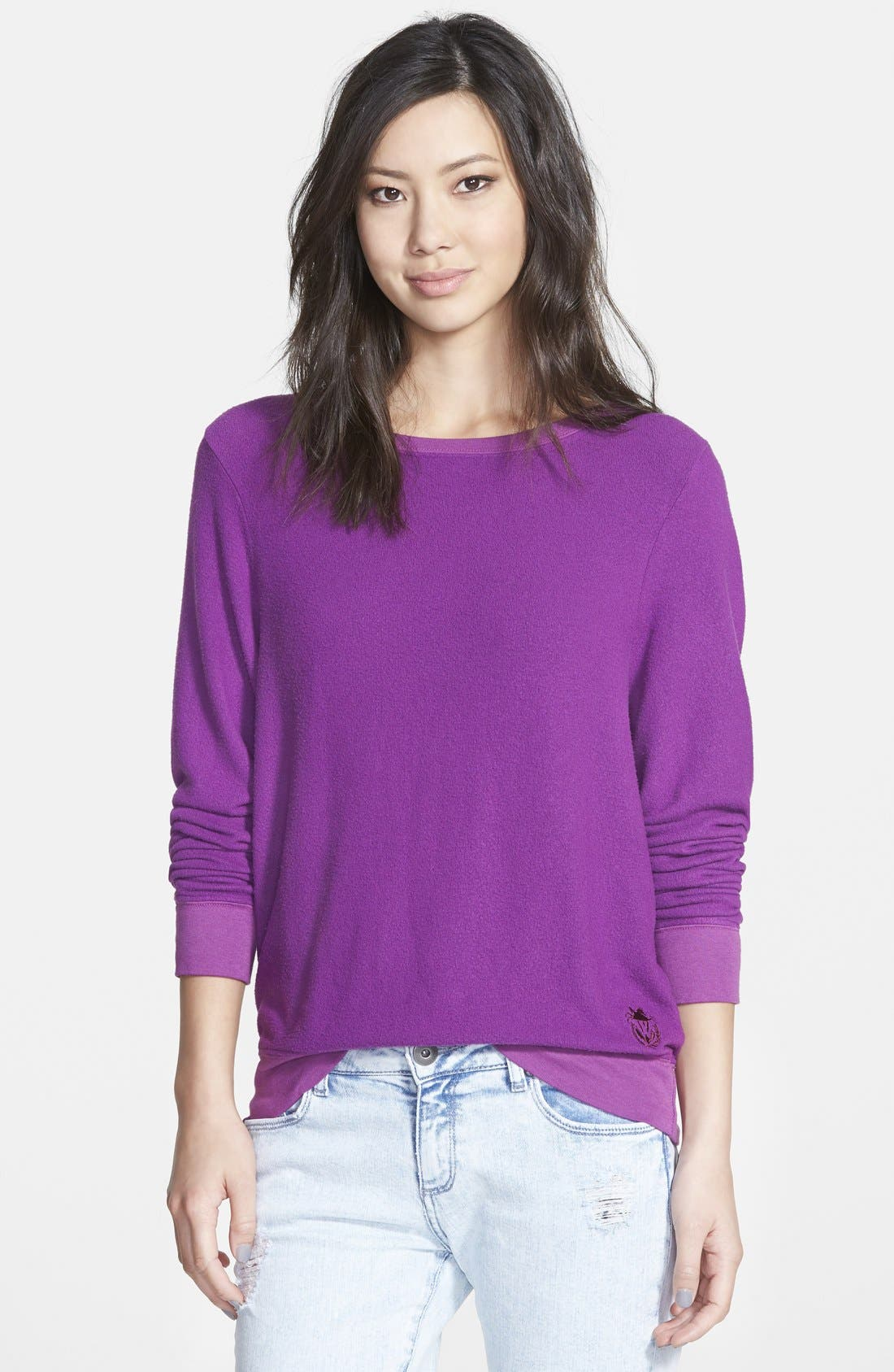 'Baggy Beach Jumper' Pullover,                             Alternate thumbnail 119, color,