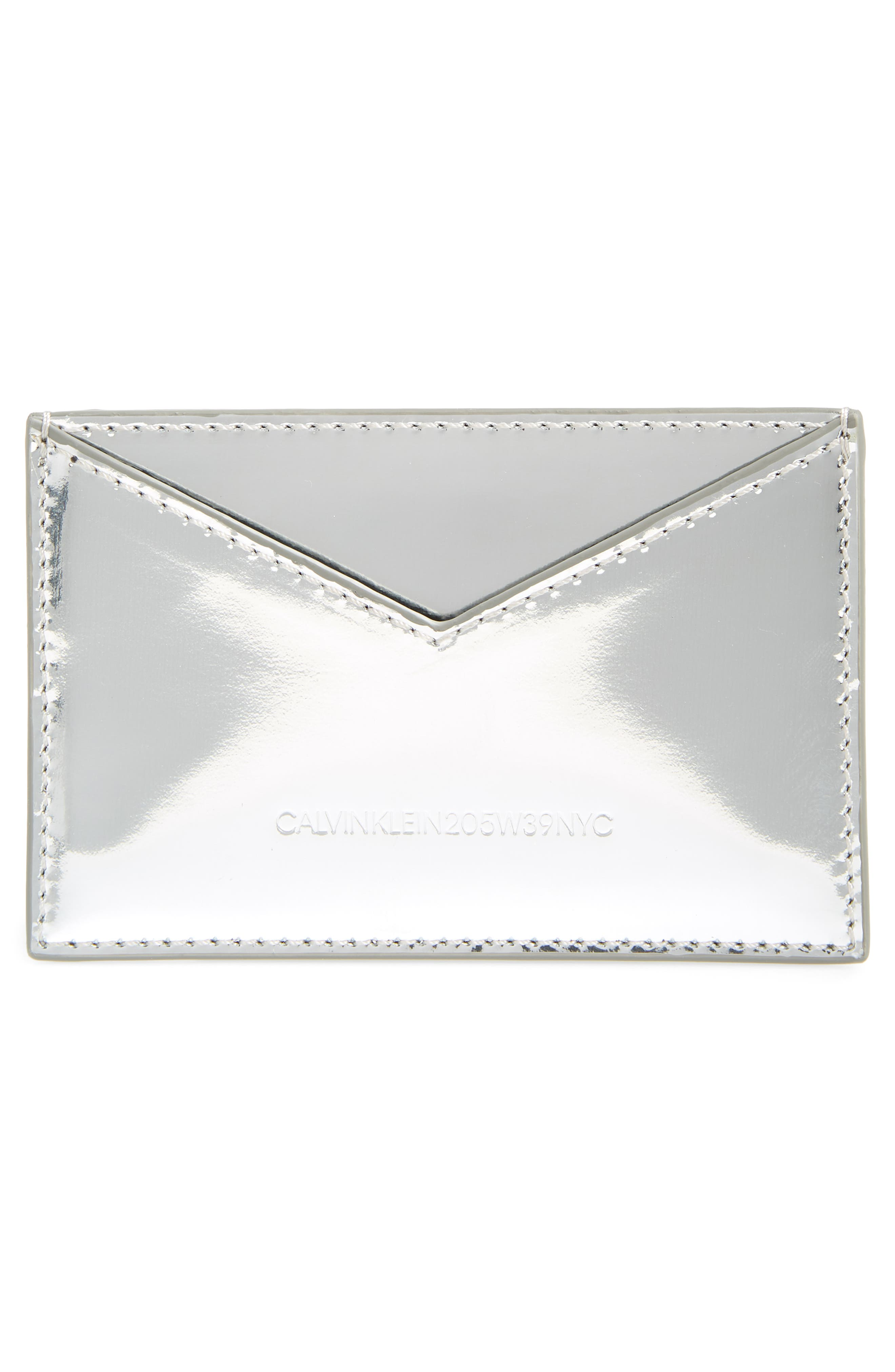 Small Leather Card Case,                             Alternate thumbnail 2, color,                             045