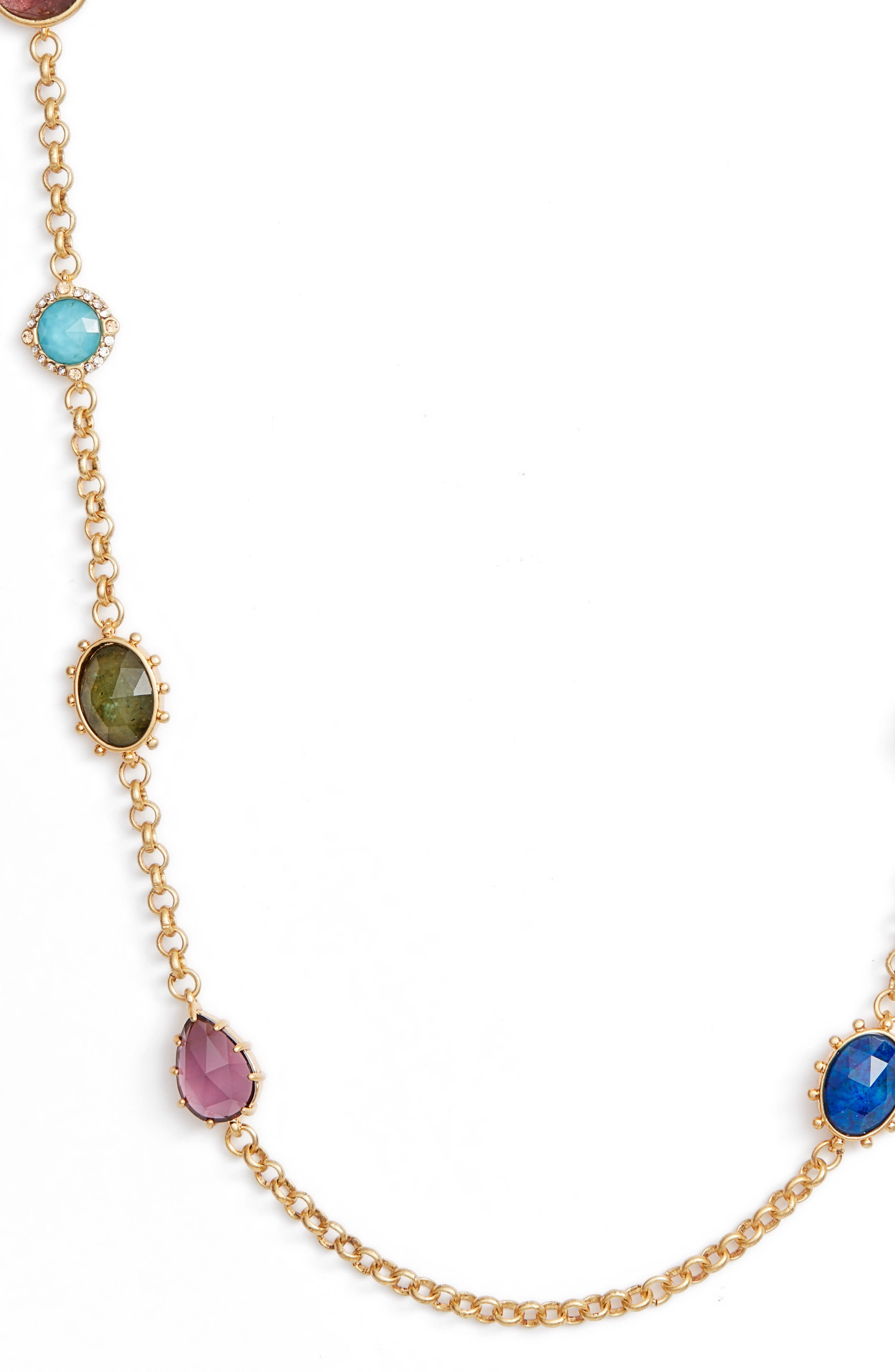 scatter necklace,                             Alternate thumbnail 3, color,                             710
