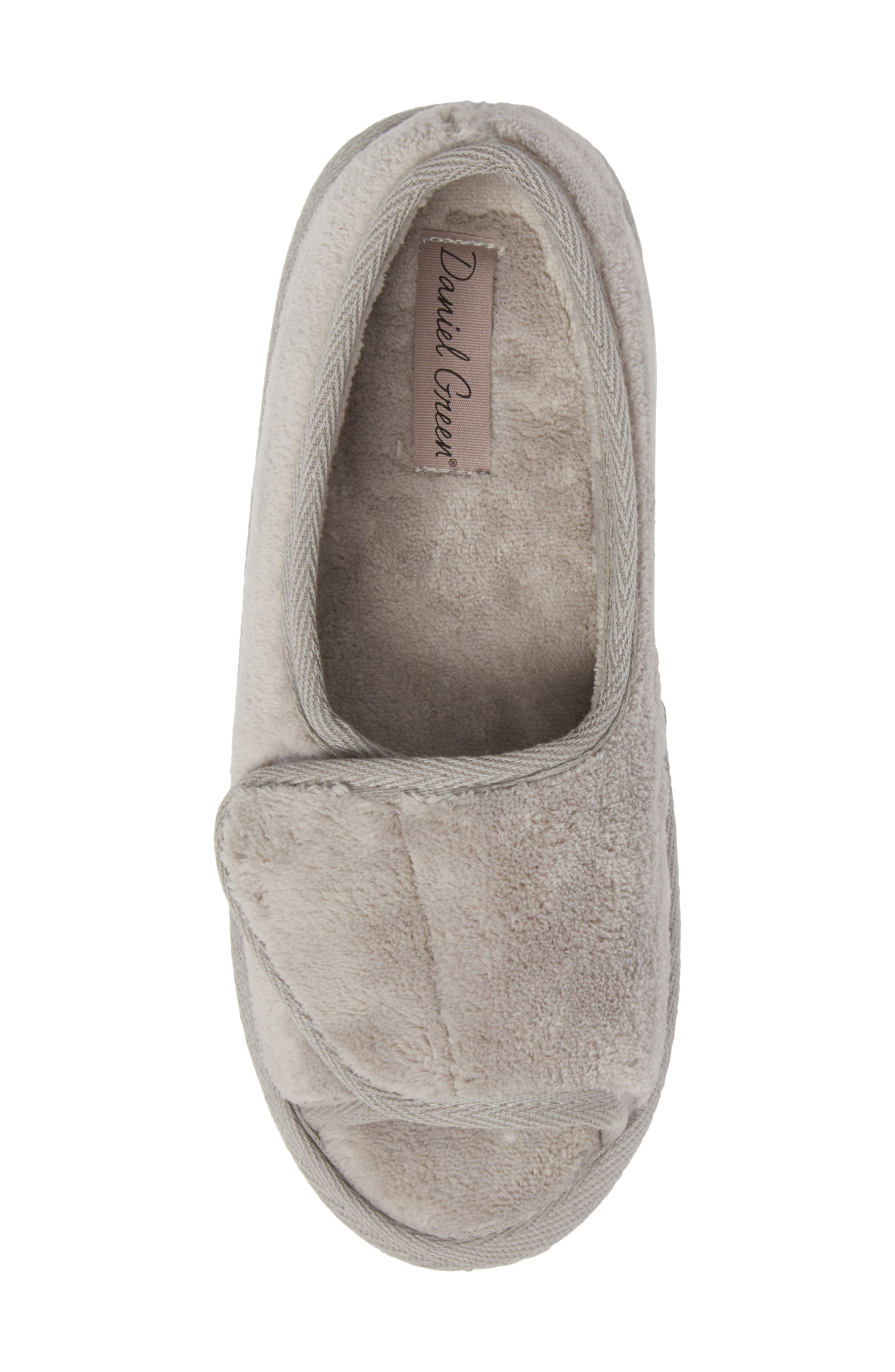 Tara II Slipper,                             Alternate thumbnail 5, color,                             GRAY FABRIC