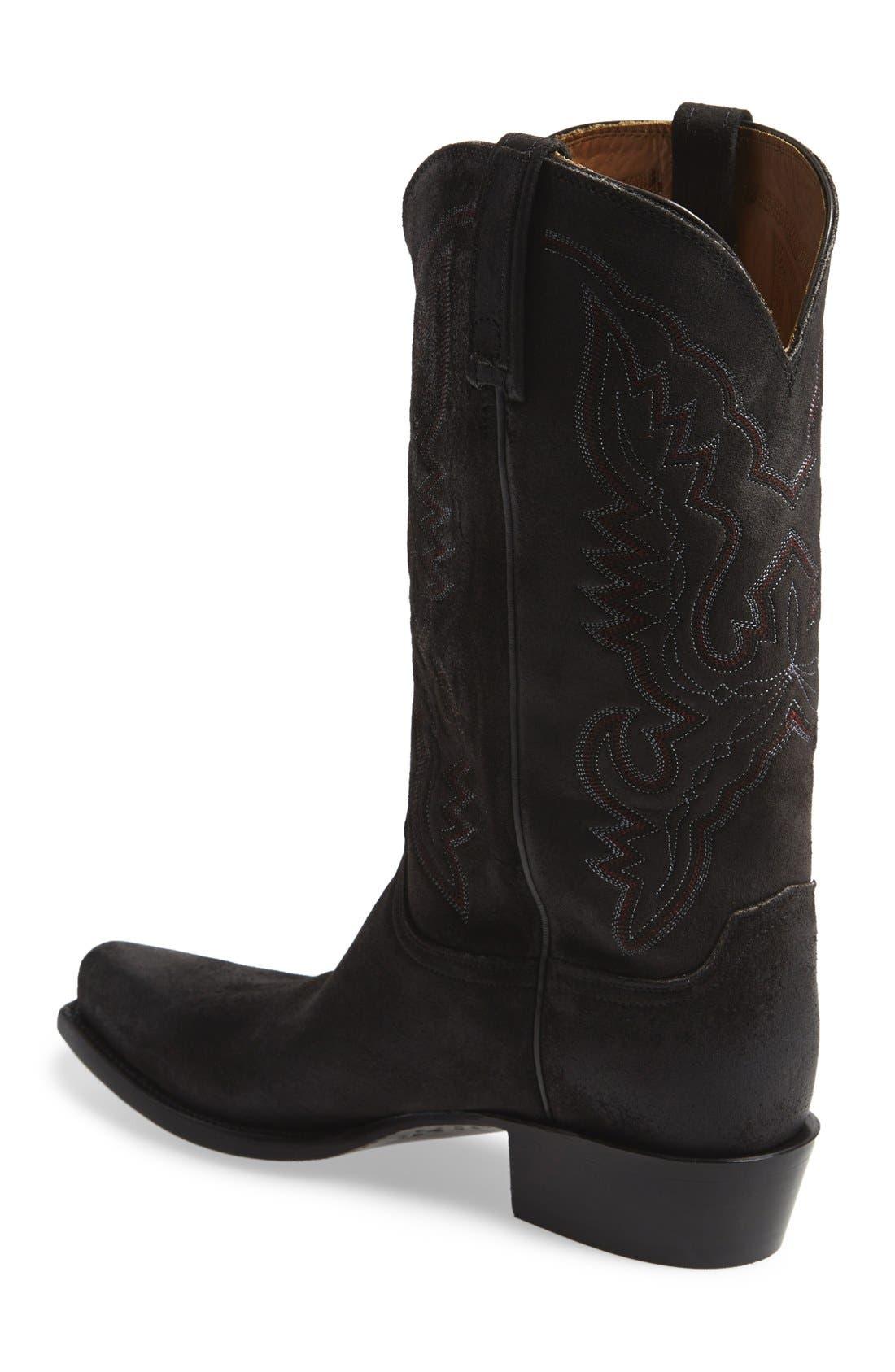 'Austin' Western Boot,                             Alternate thumbnail 3, color,                             002