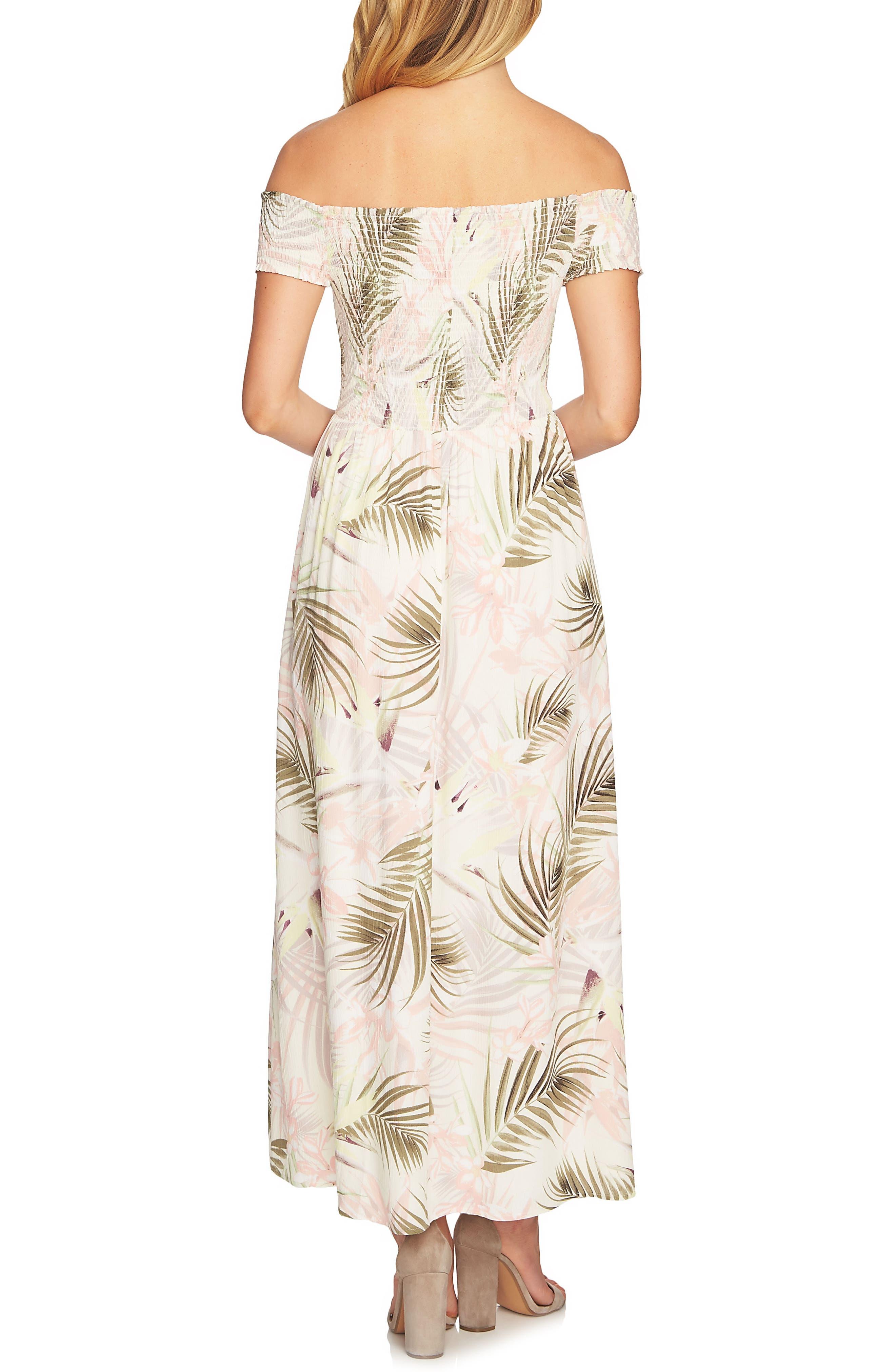 Soft Palm Maxi Dress,                             Alternate thumbnail 4, color,