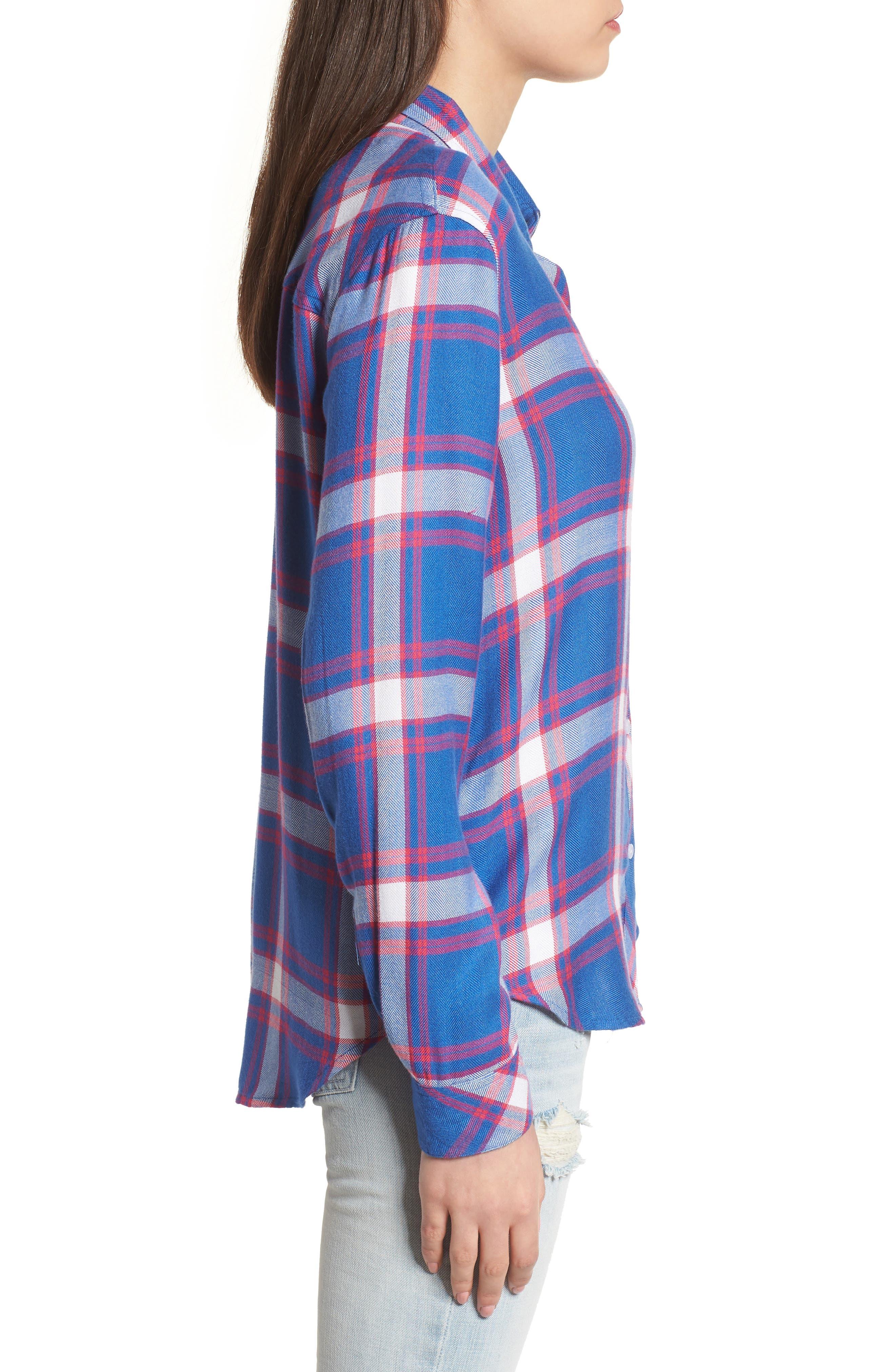Hunter Plaid Shirt,                             Alternate thumbnail 325, color,