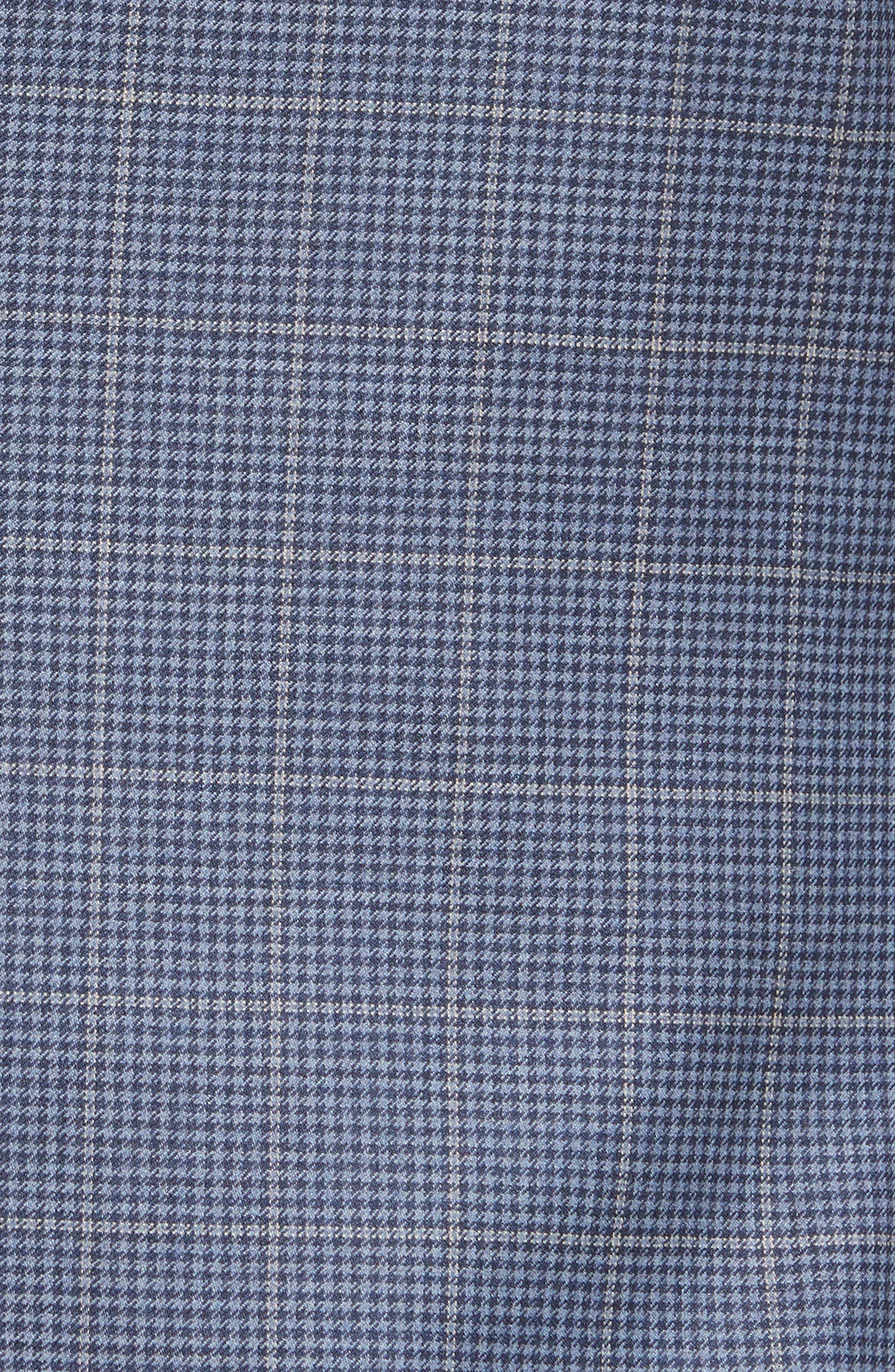 Classic Fit Windowpane Wool Sport Coat,                             Alternate thumbnail 6, color,                             400