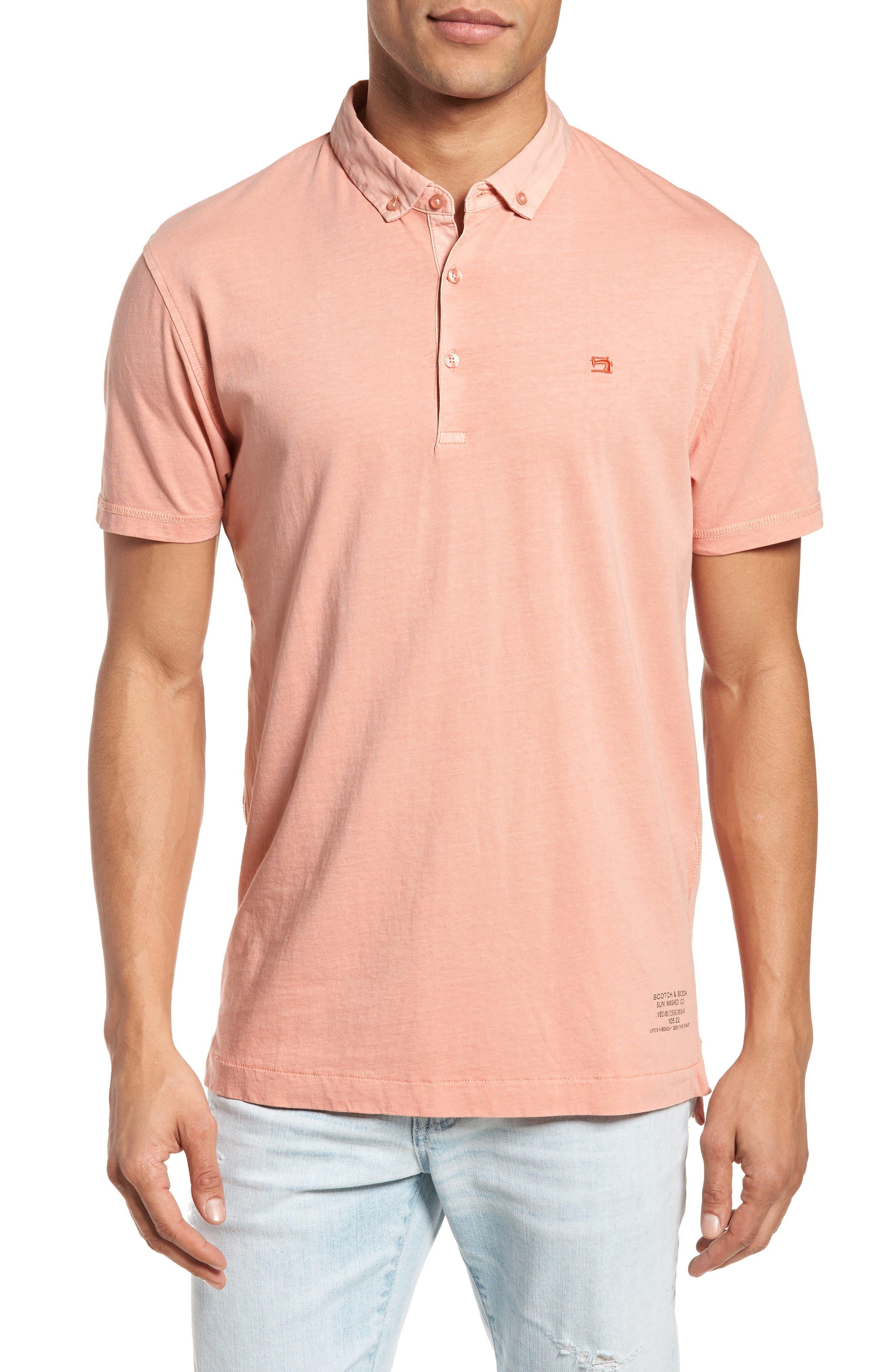 Classic Jersey Polo,                             Main thumbnail 3, color,
