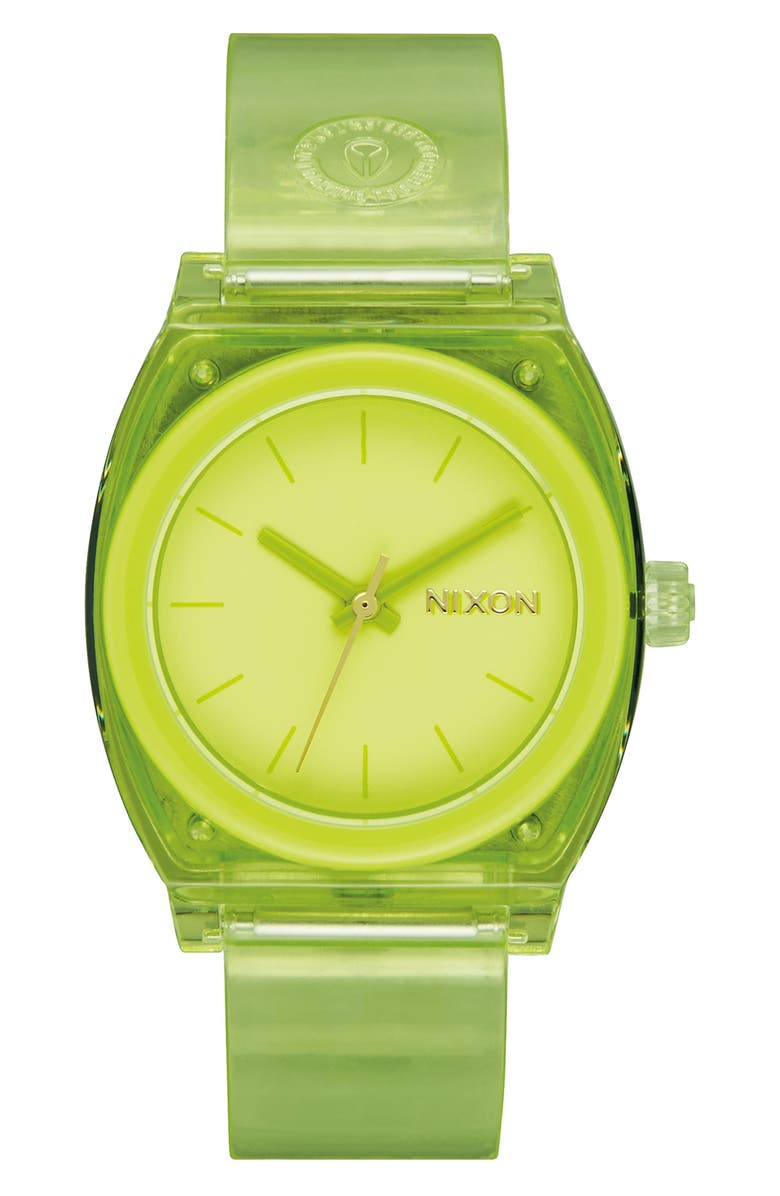 Nixon The Time Teller Strap Watch, 31mm