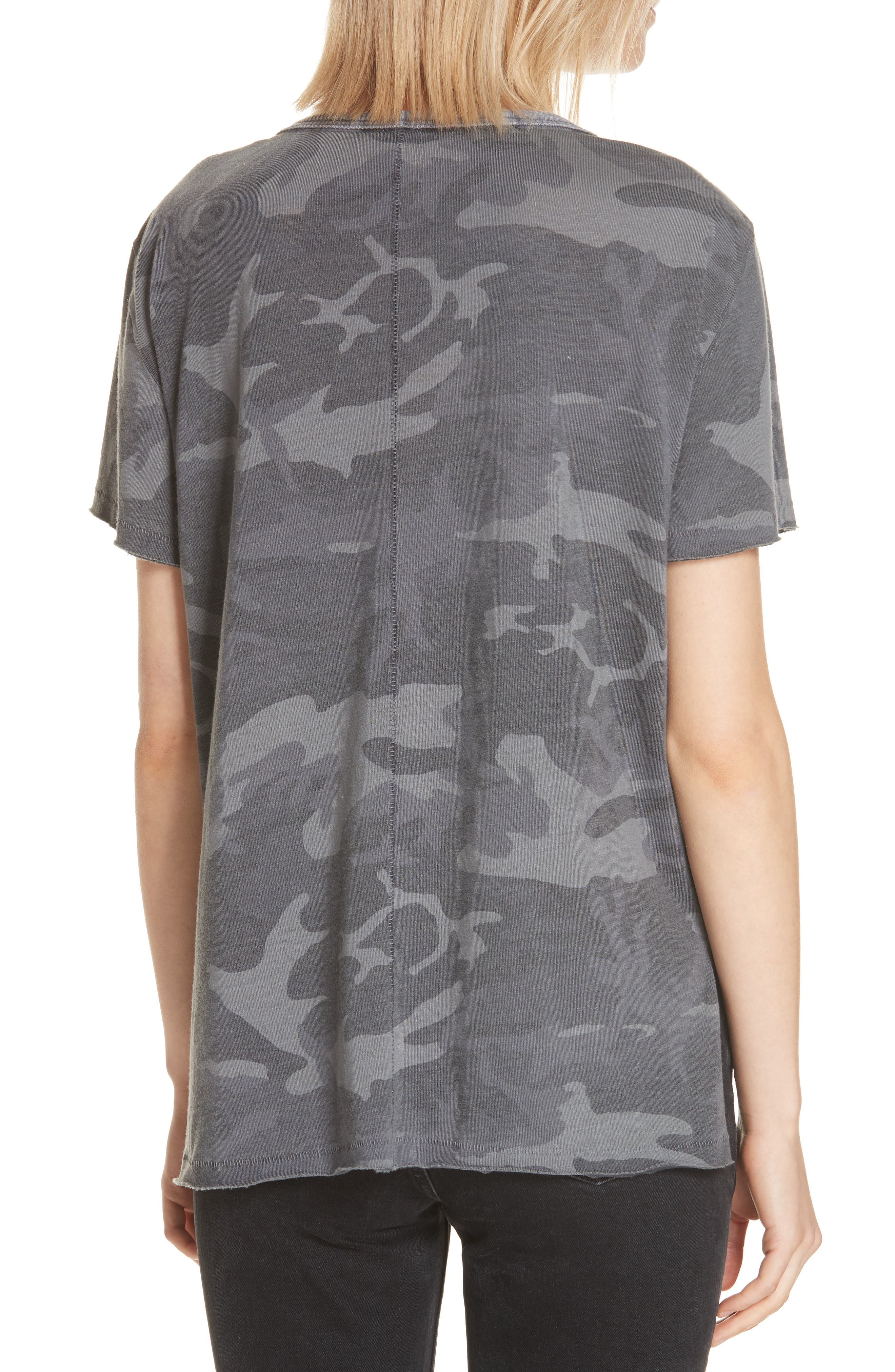 Army Tee,                             Alternate thumbnail 2, color,                             DARK GREY
