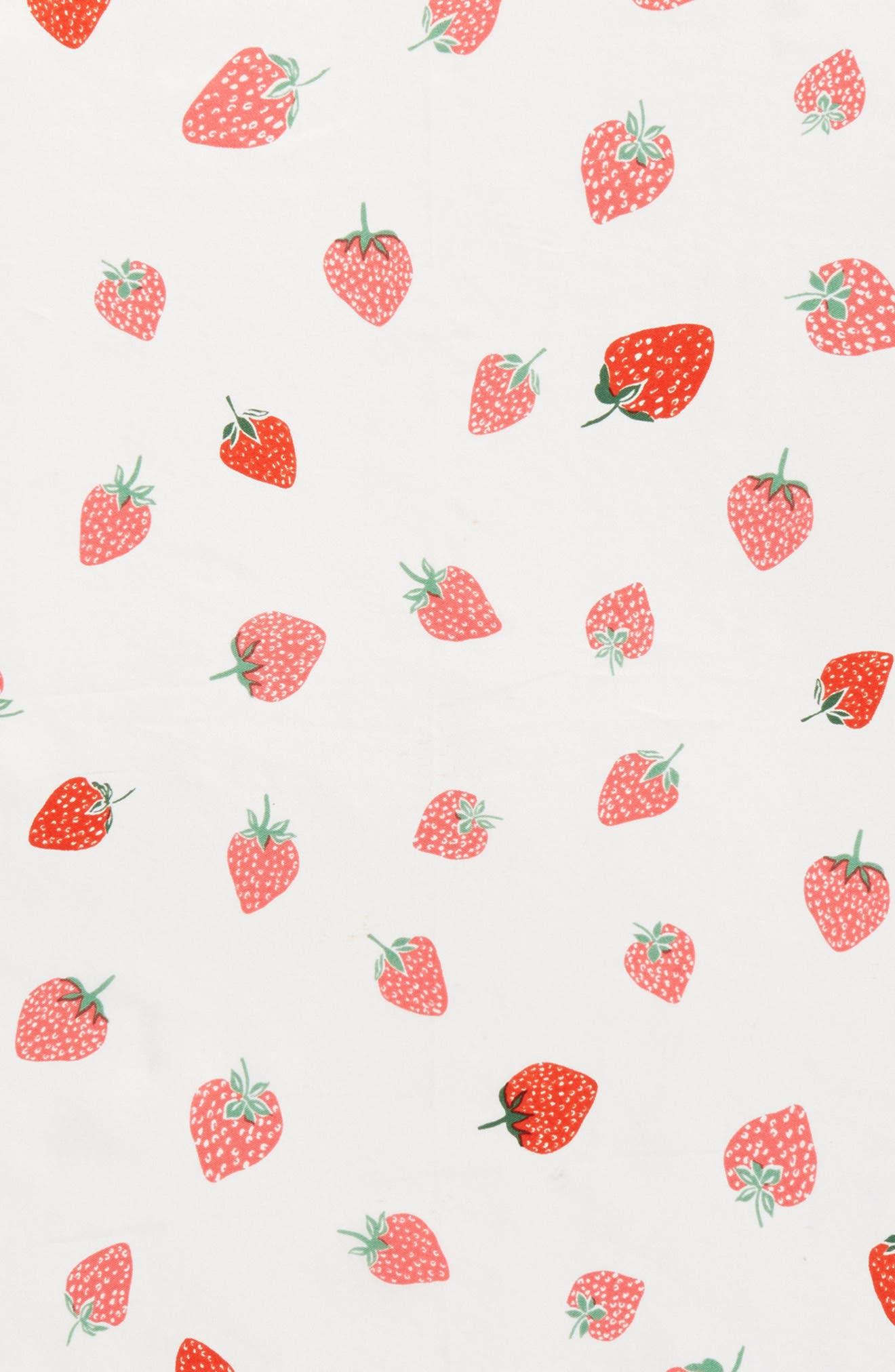 tossed berry silk bandana,                             Alternate thumbnail 4, color,