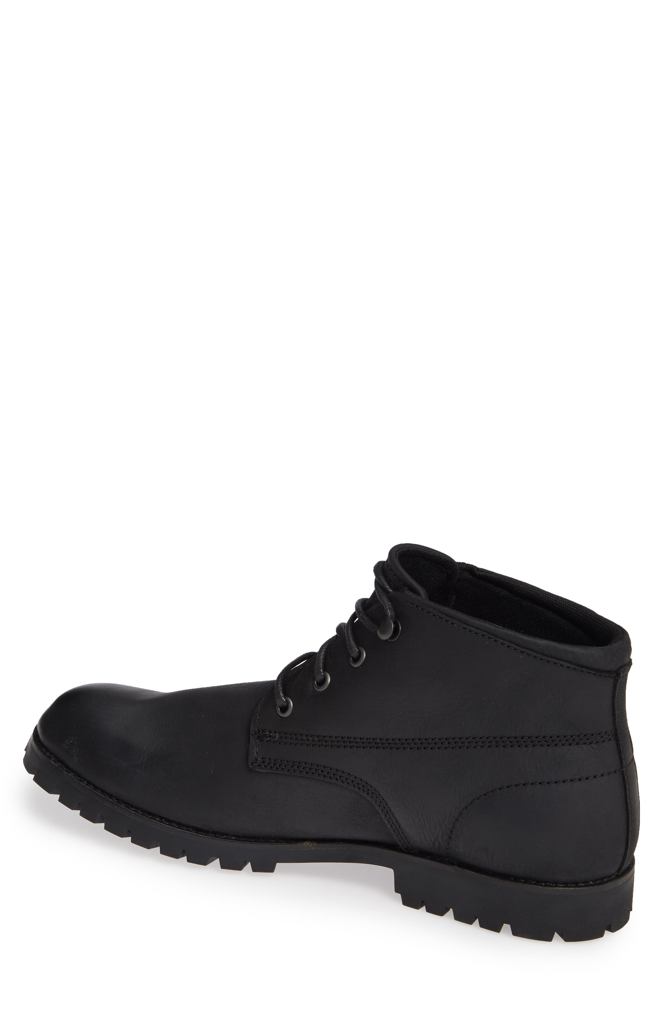WOLVERINE,                             Cort Plain Toe Waterproof Boot,                             Alternate thumbnail 2, color,                             MEDIUM BLACK