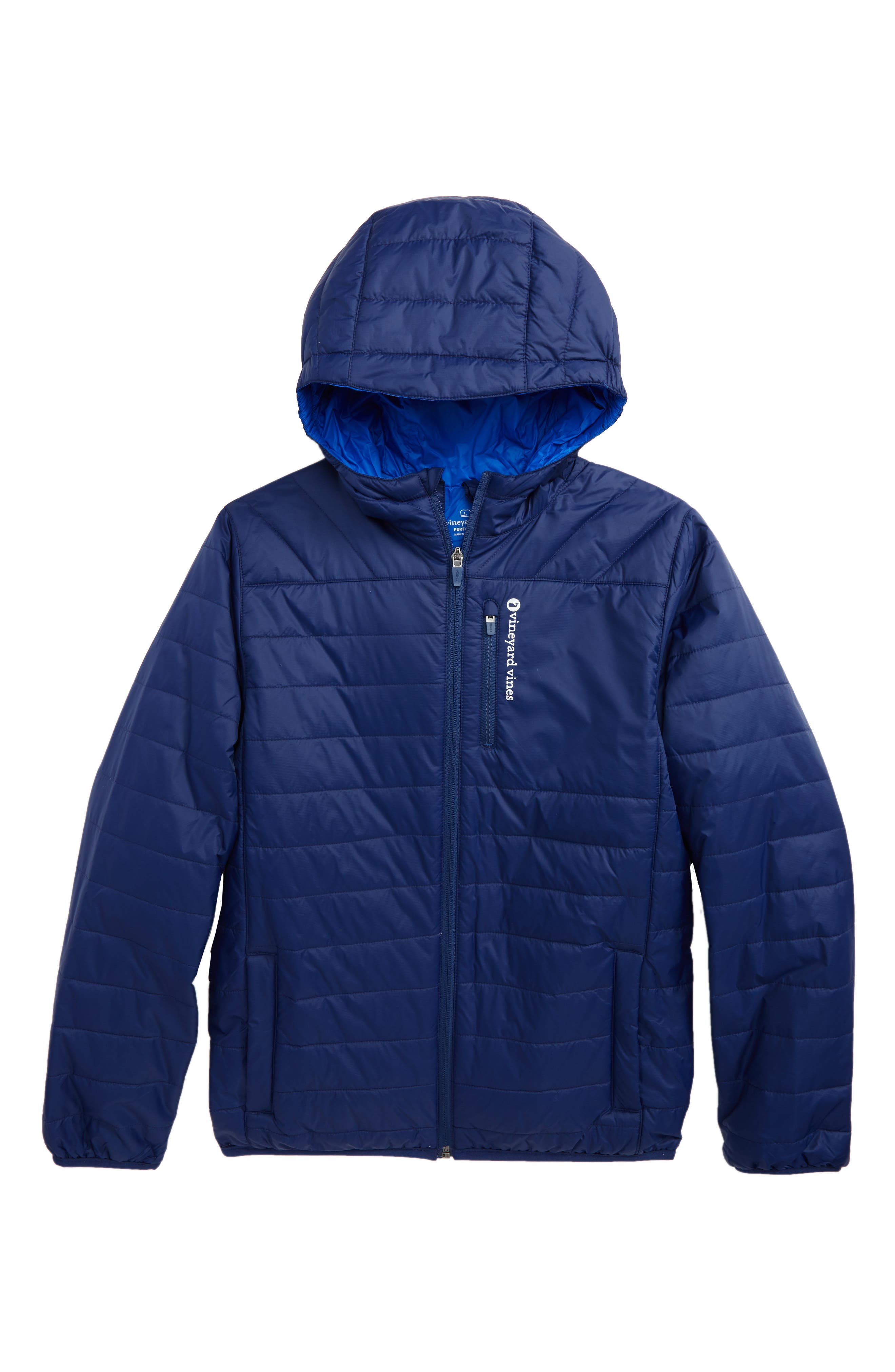 Water Resistant Hooded Jacket,                             Main thumbnail 1, color,                             400