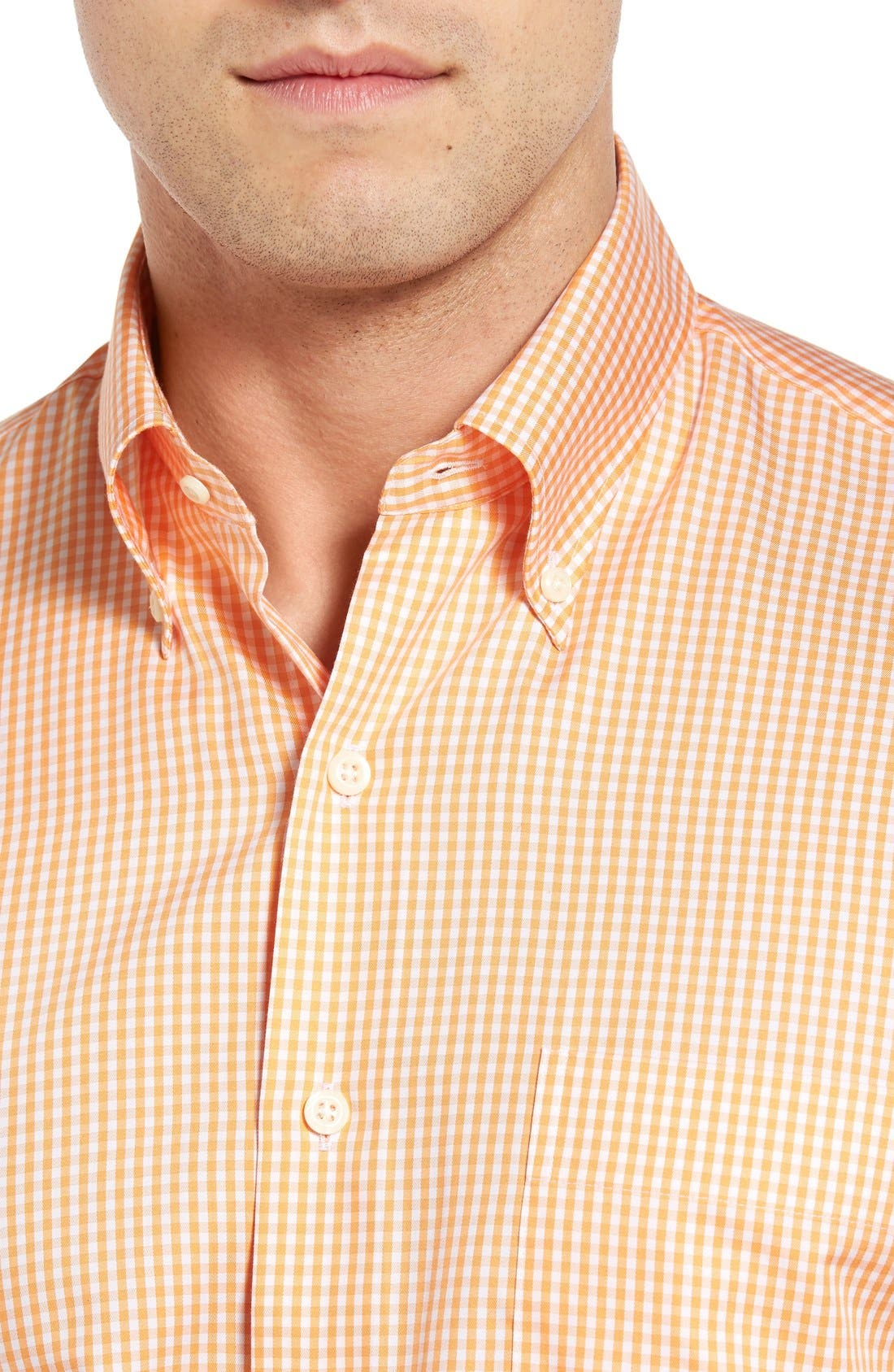 Crown Soft Gingham Regular Fit Sport Shirt,                             Alternate thumbnail 26, color,