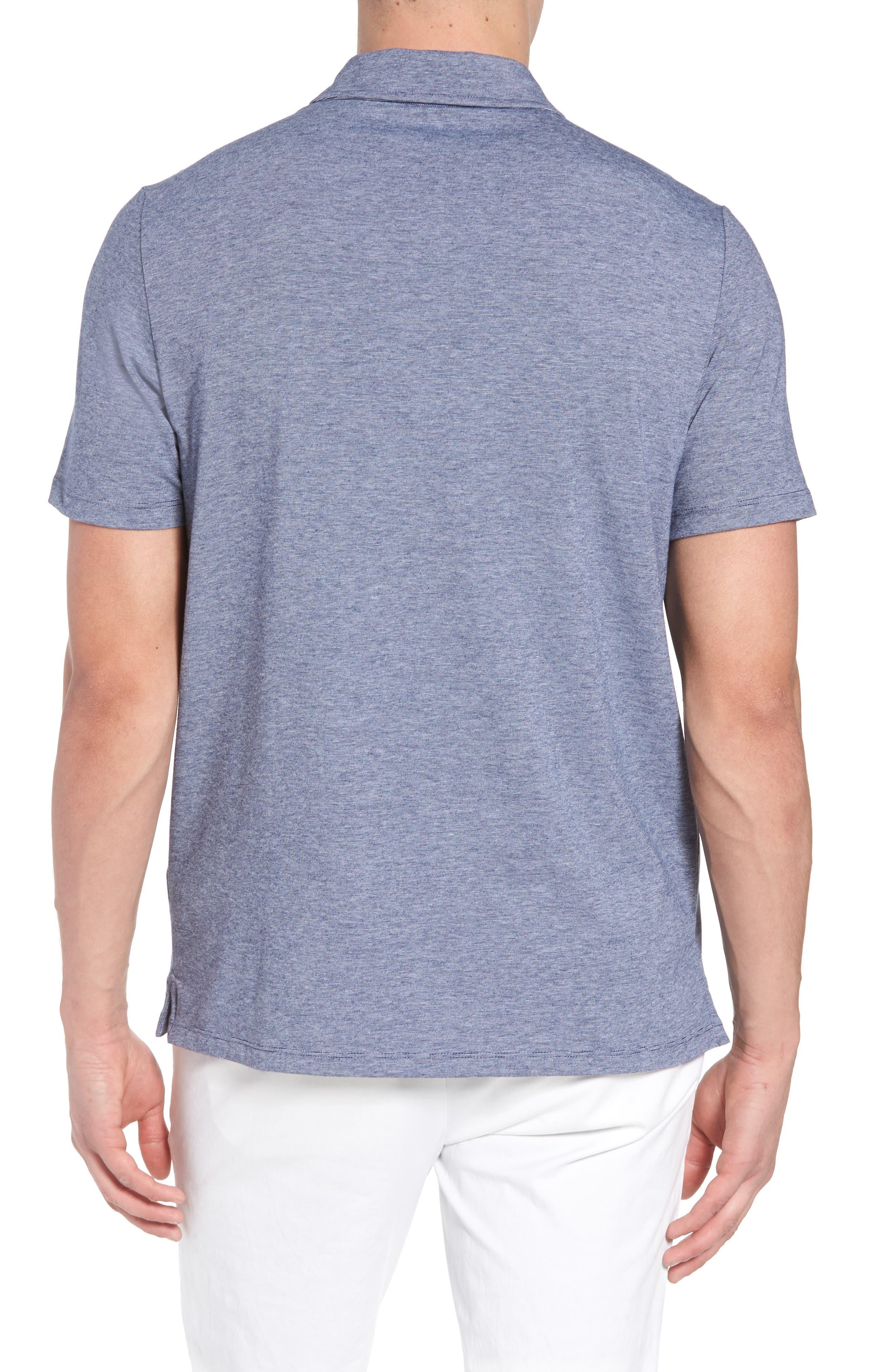 VINEYARD VINES,                             Edgartown Polo Shirt,                             Alternate thumbnail 2, color,                             DEEP BAY