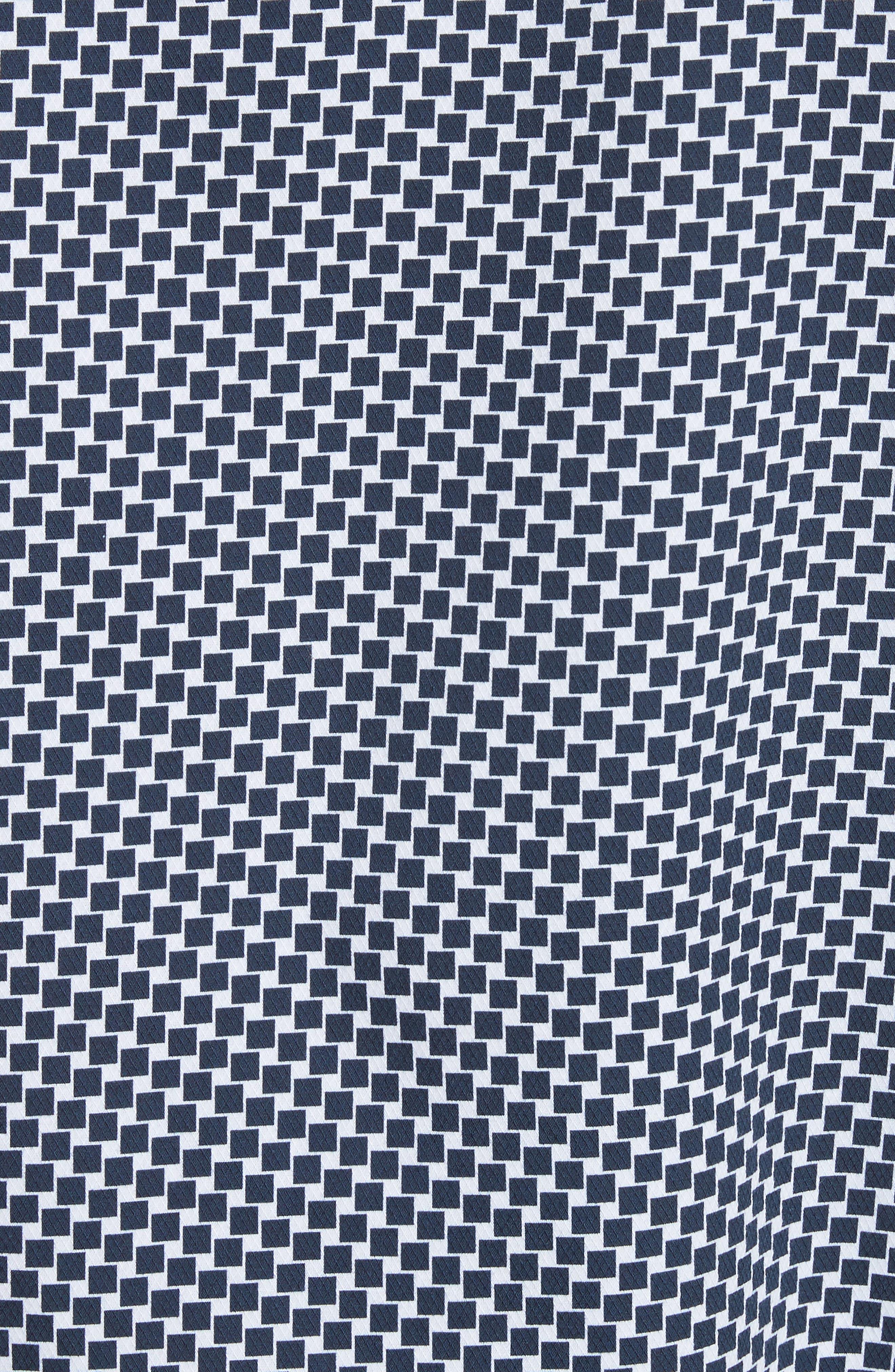 Rectangle Print Regular Fit Sport Shirt,                             Alternate thumbnail 2, color,