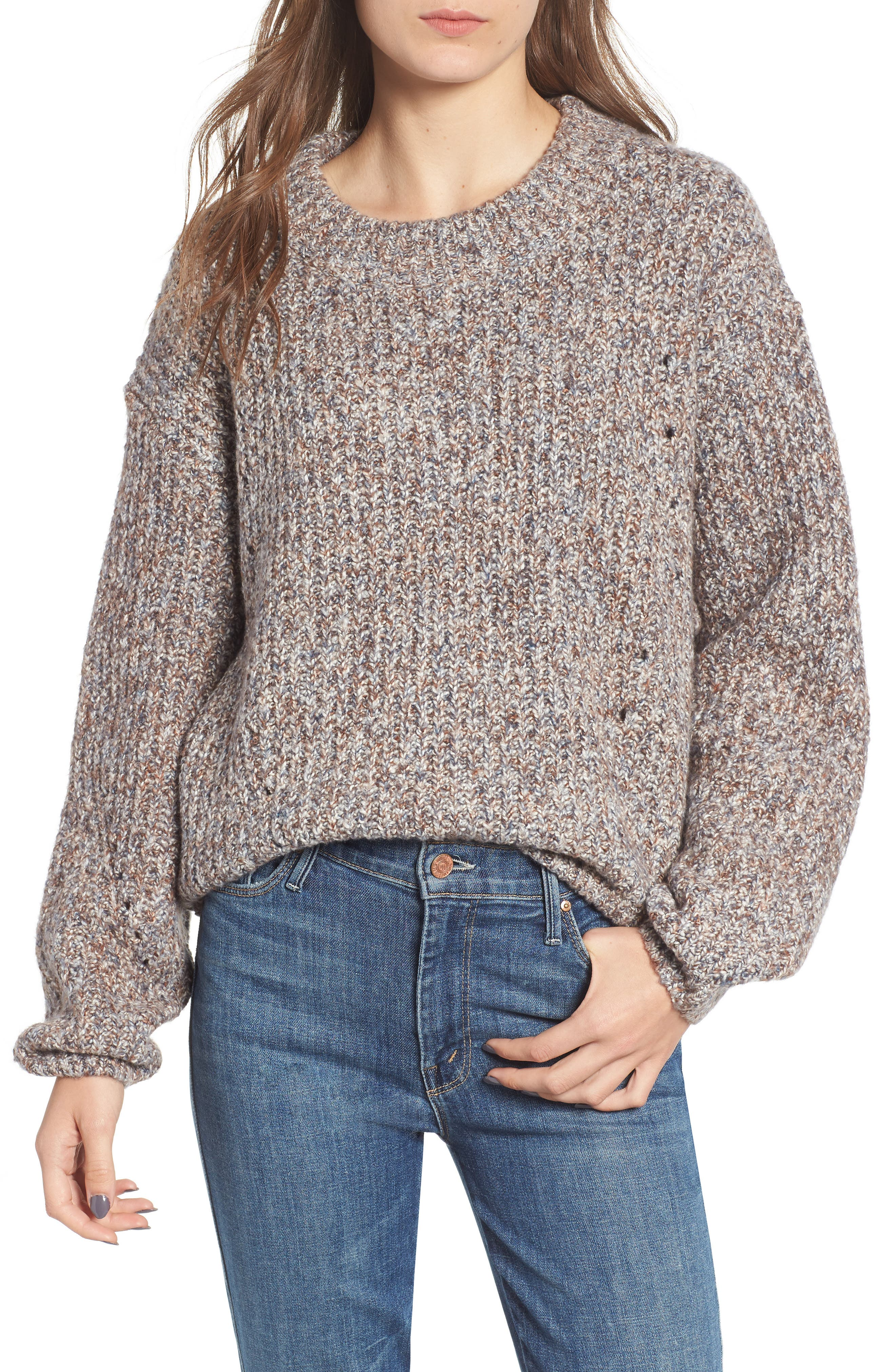 Heritage Stitch Sweater,                             Main thumbnail 1, color,                             021