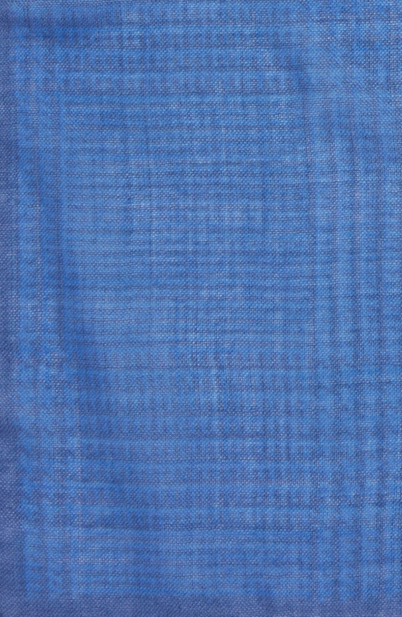 Grid Pocket Square,                             Alternate thumbnail 3, color,                             429